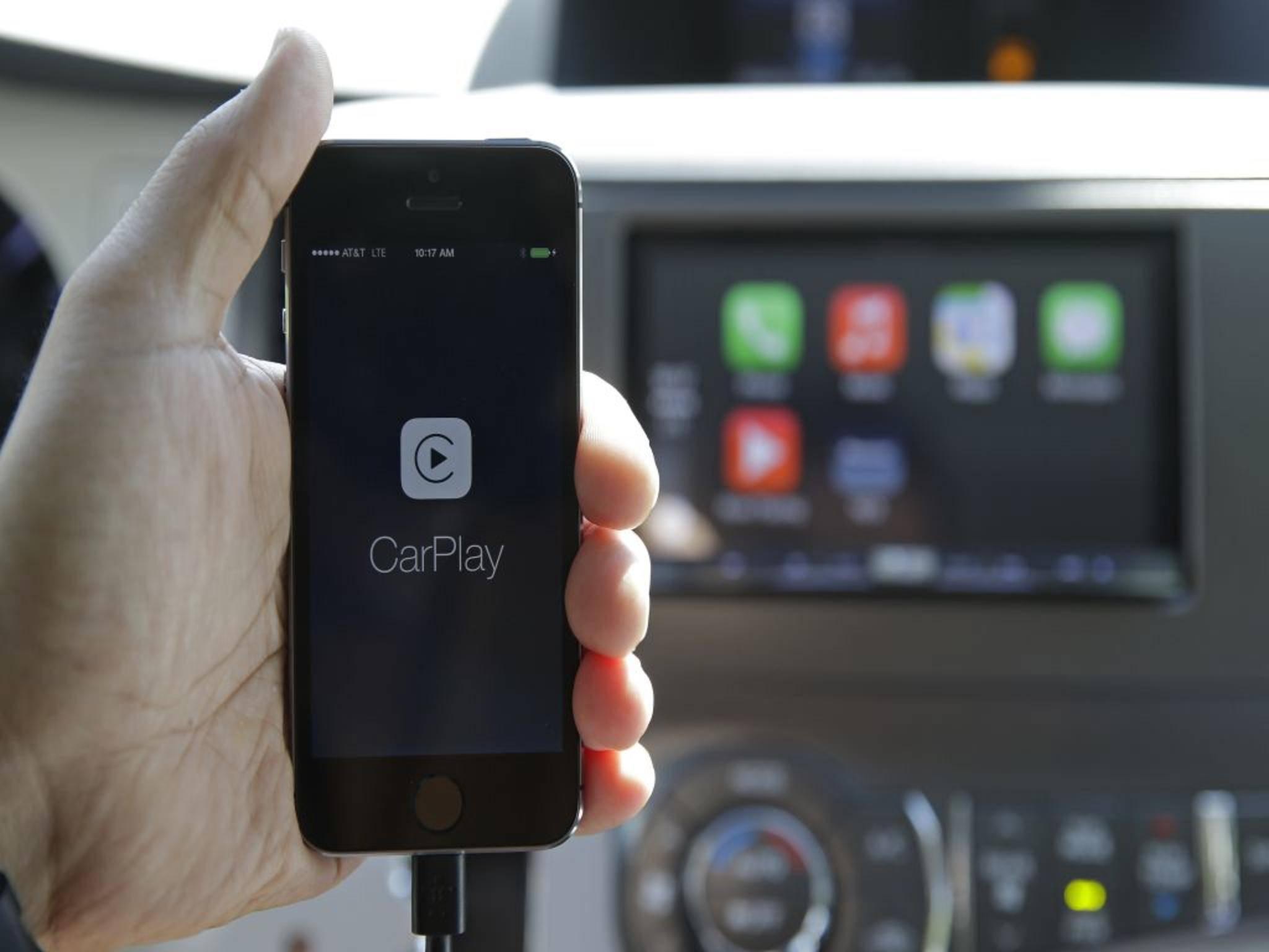 CarPlay verbindet iPhoneund Auto.