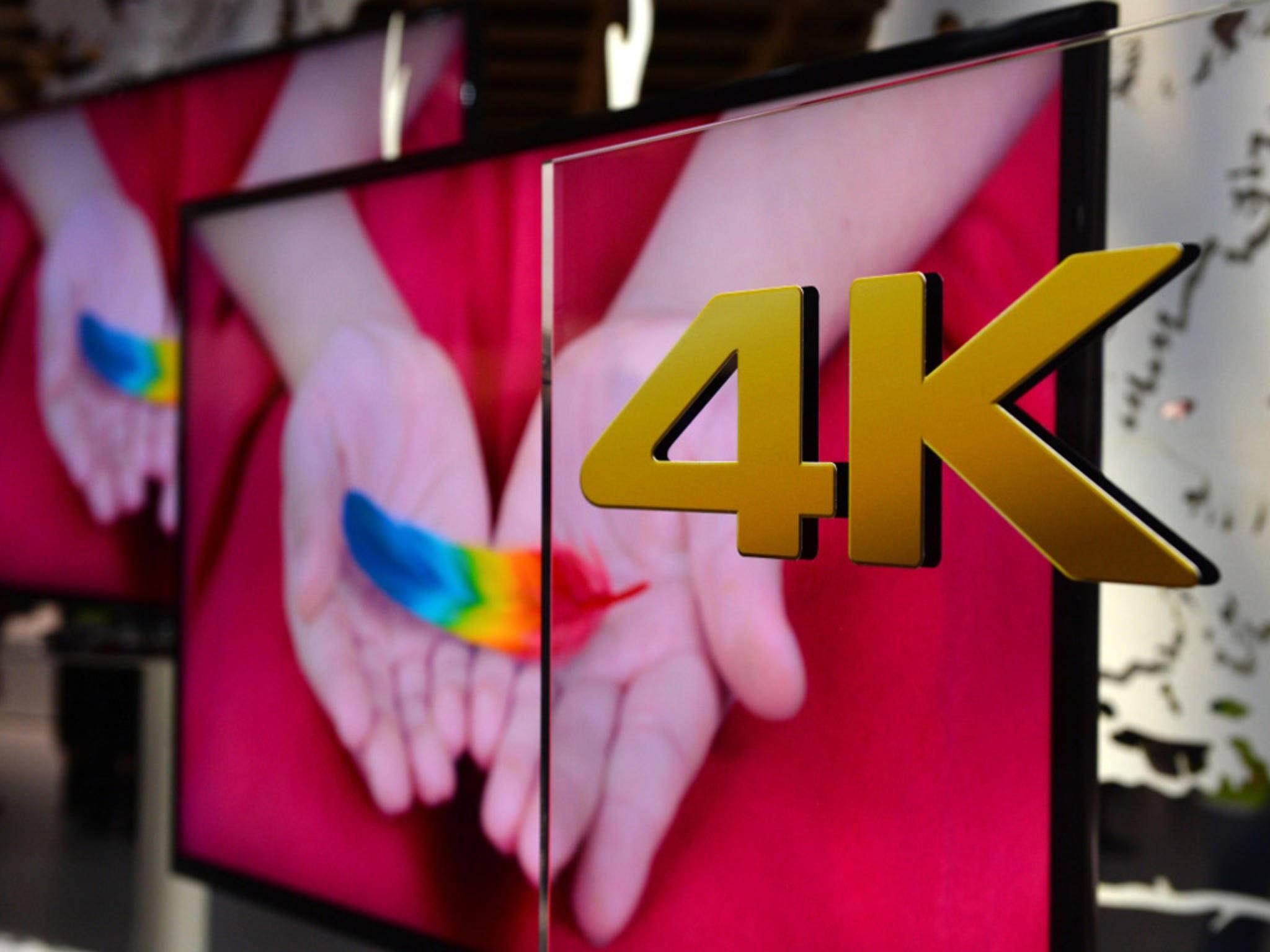 Mit der Schnittstelle lassen sich 4K-Filme mit bis zu 60 fps verlustfrei abspielen.(