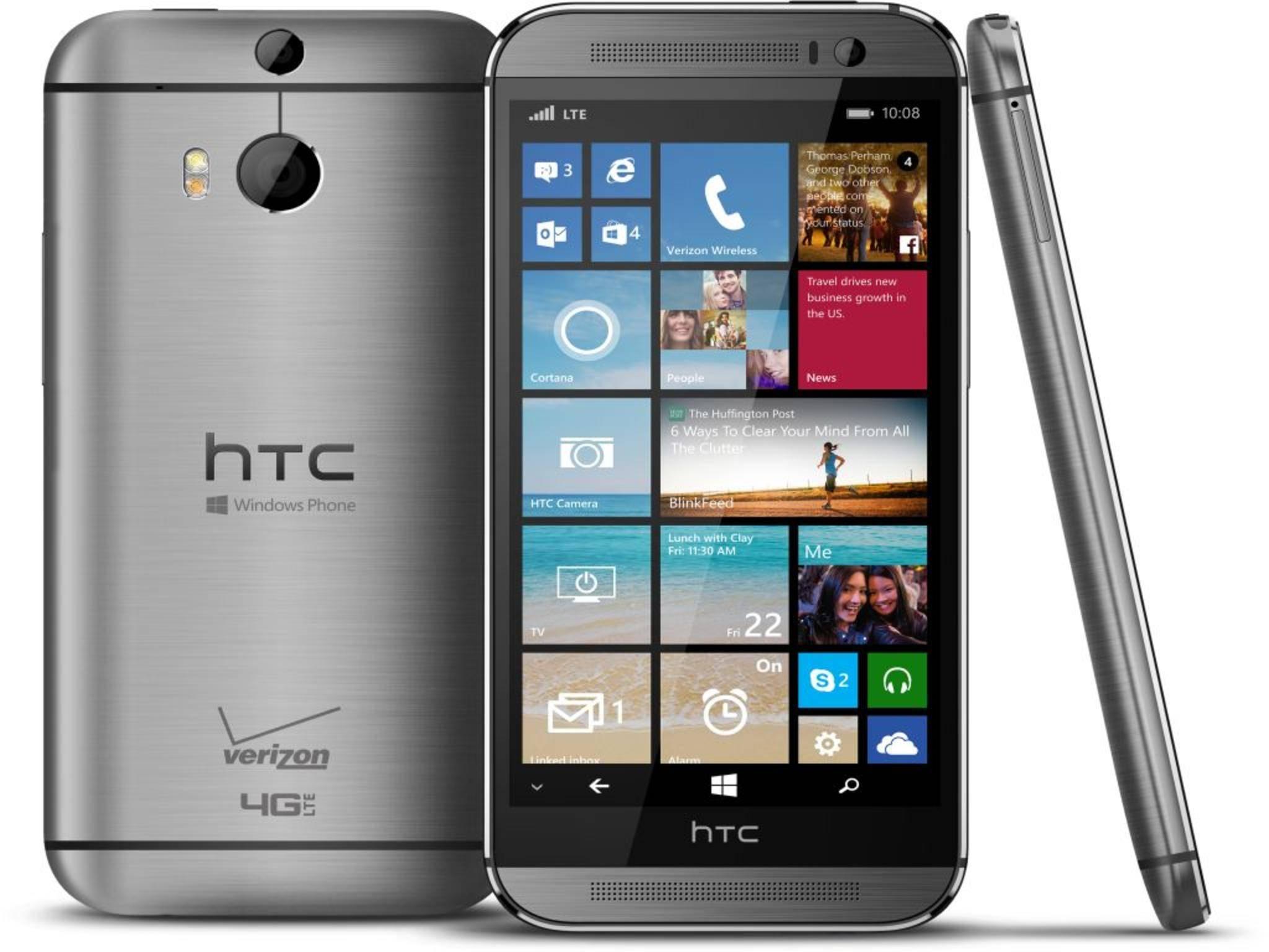 Das HTC One M8 Windows wird allem Anschein nach einen Nachfolger bekommen.