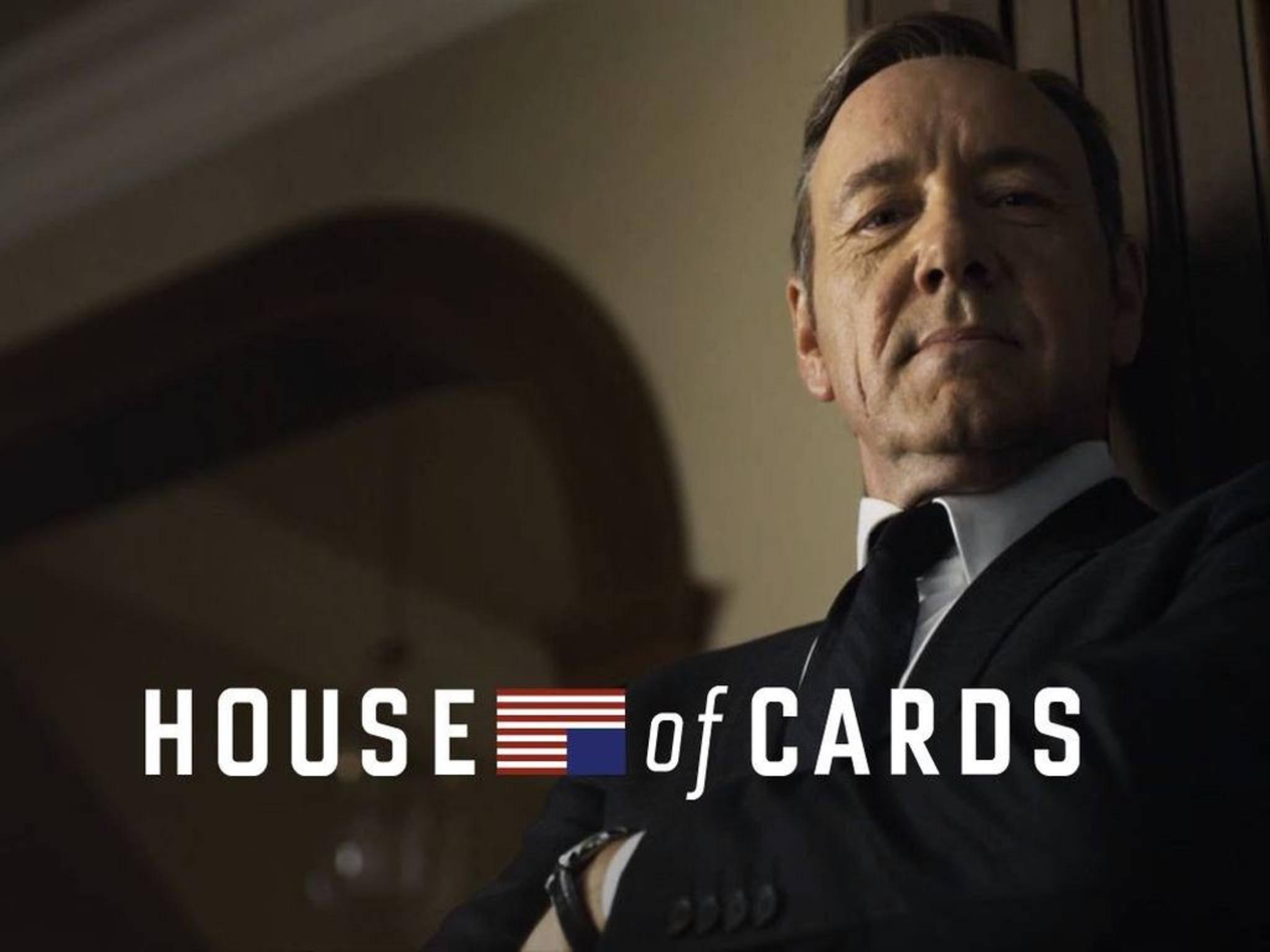 """Die wohl bekannteste Eigenproduktion von Netflix ist """"House Of Cards""""."""