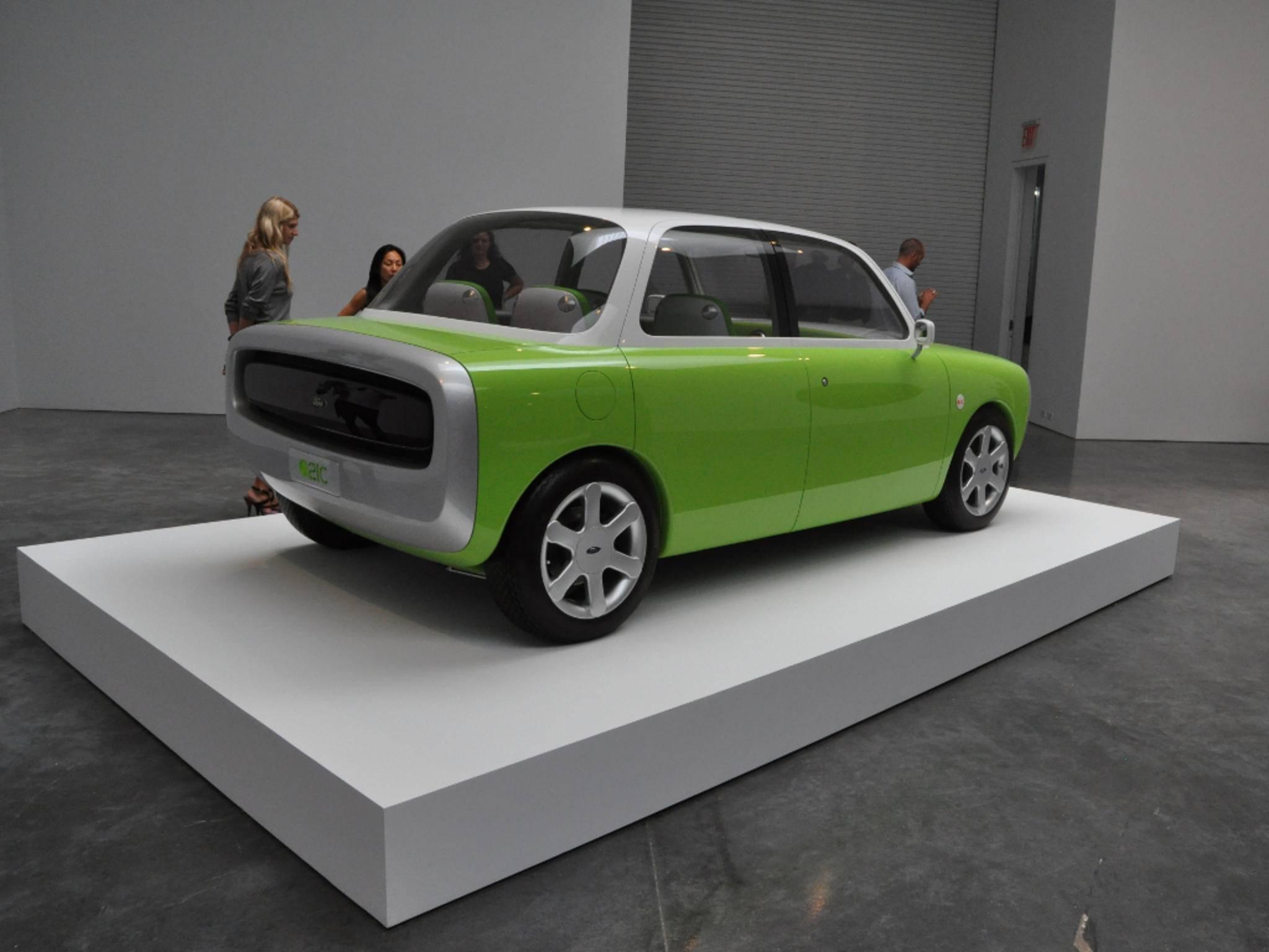 Ein Vorbild für das iCar? Der Ford 021C von Mark Newson.