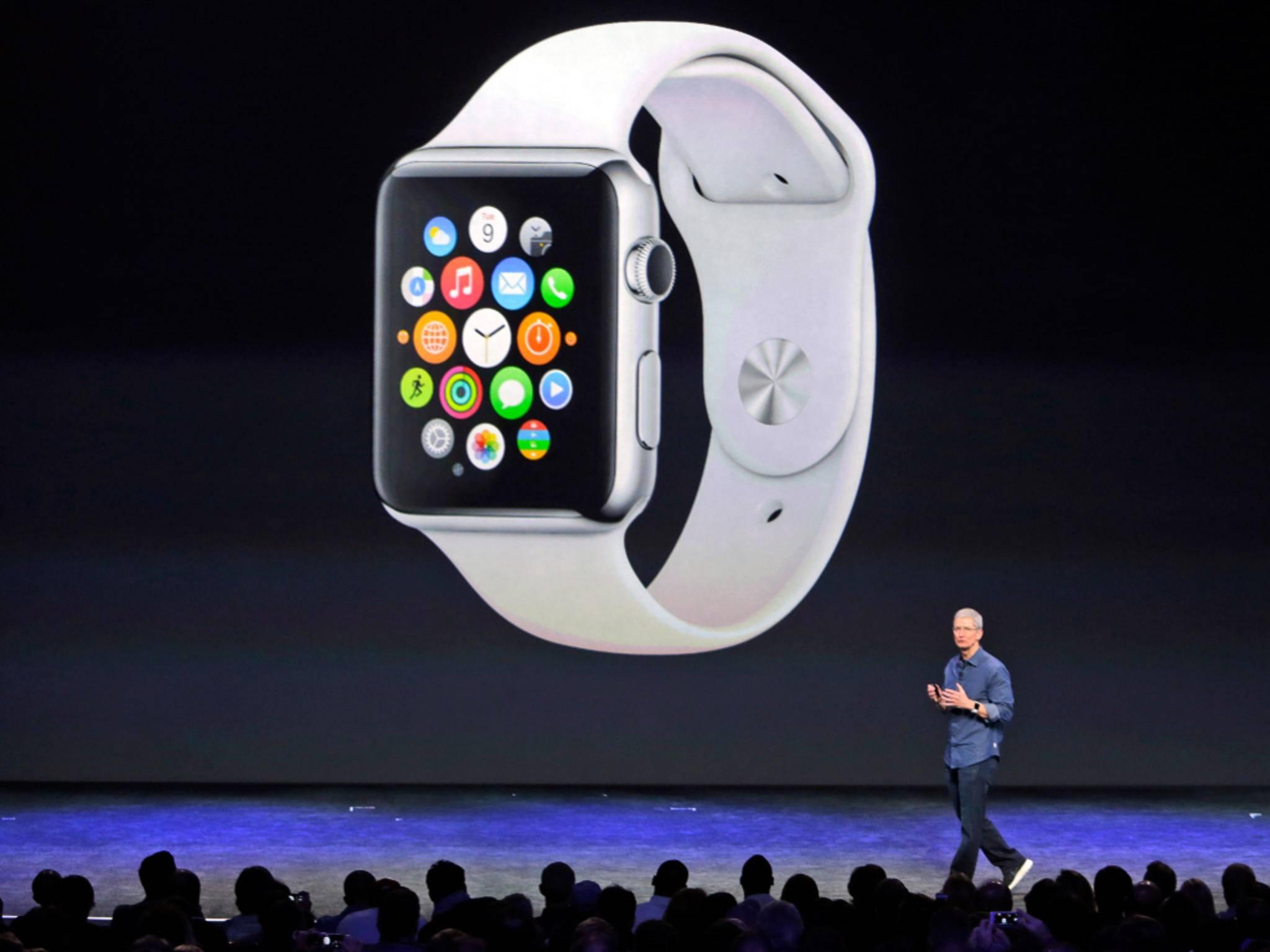 Die Apple Watch soll im April auf den Markt kommen.