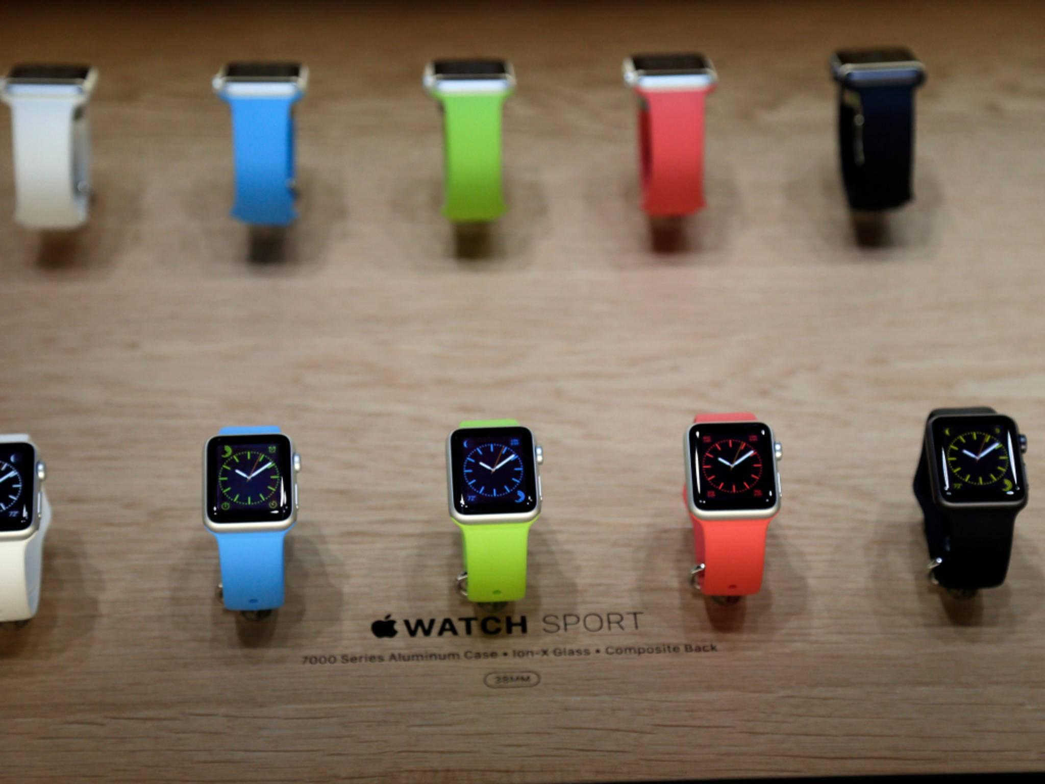 Erste Apple-Mitarbeiter können die Apple Watch bereits jetzt anfassen.