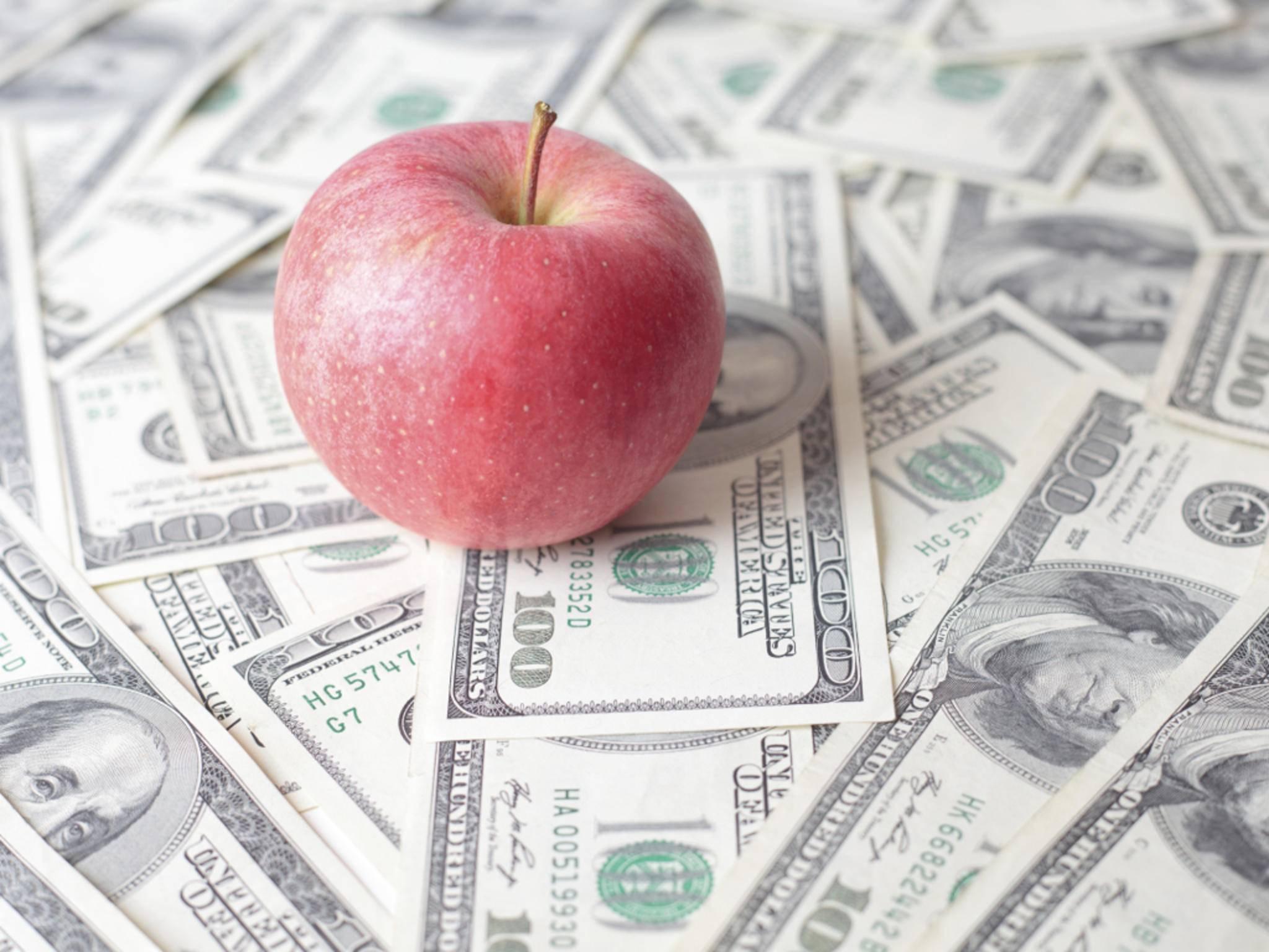 Apple ist mittlerweile unfassbare 700 Milliarden Dollar wert.