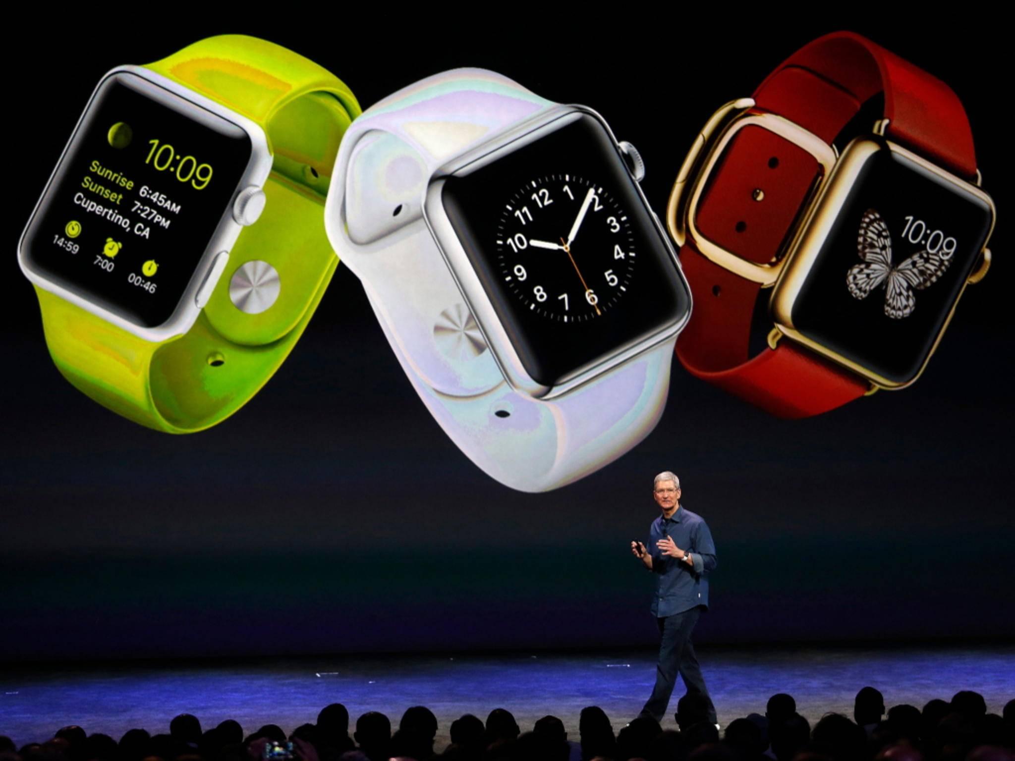 Neben der Apple Watch Edition wird es auch noch zwei andere Varianten der Uhr geben.