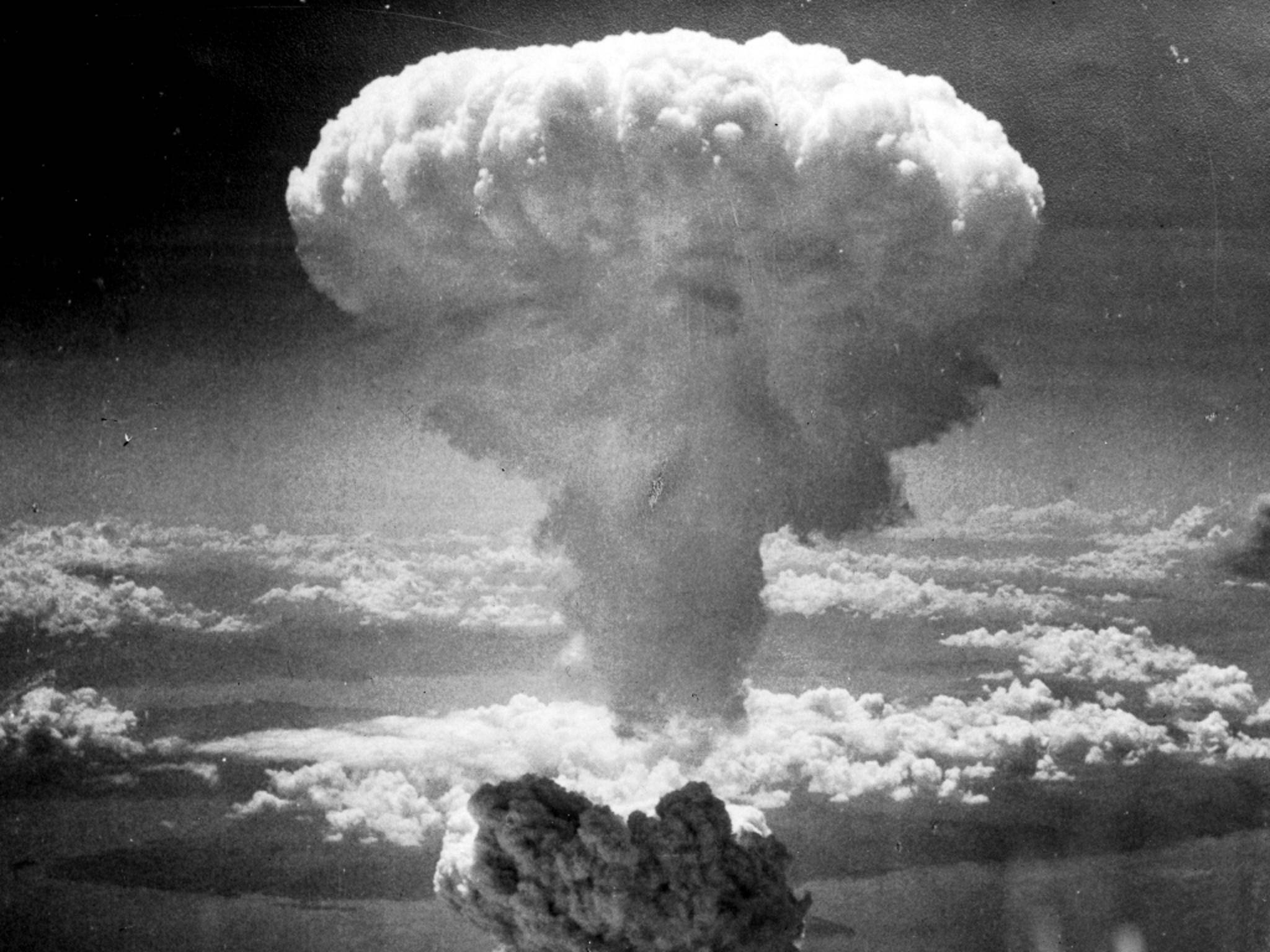 Atomkrieg - Wahrscheinlichkeit: 0,005 Prozent.