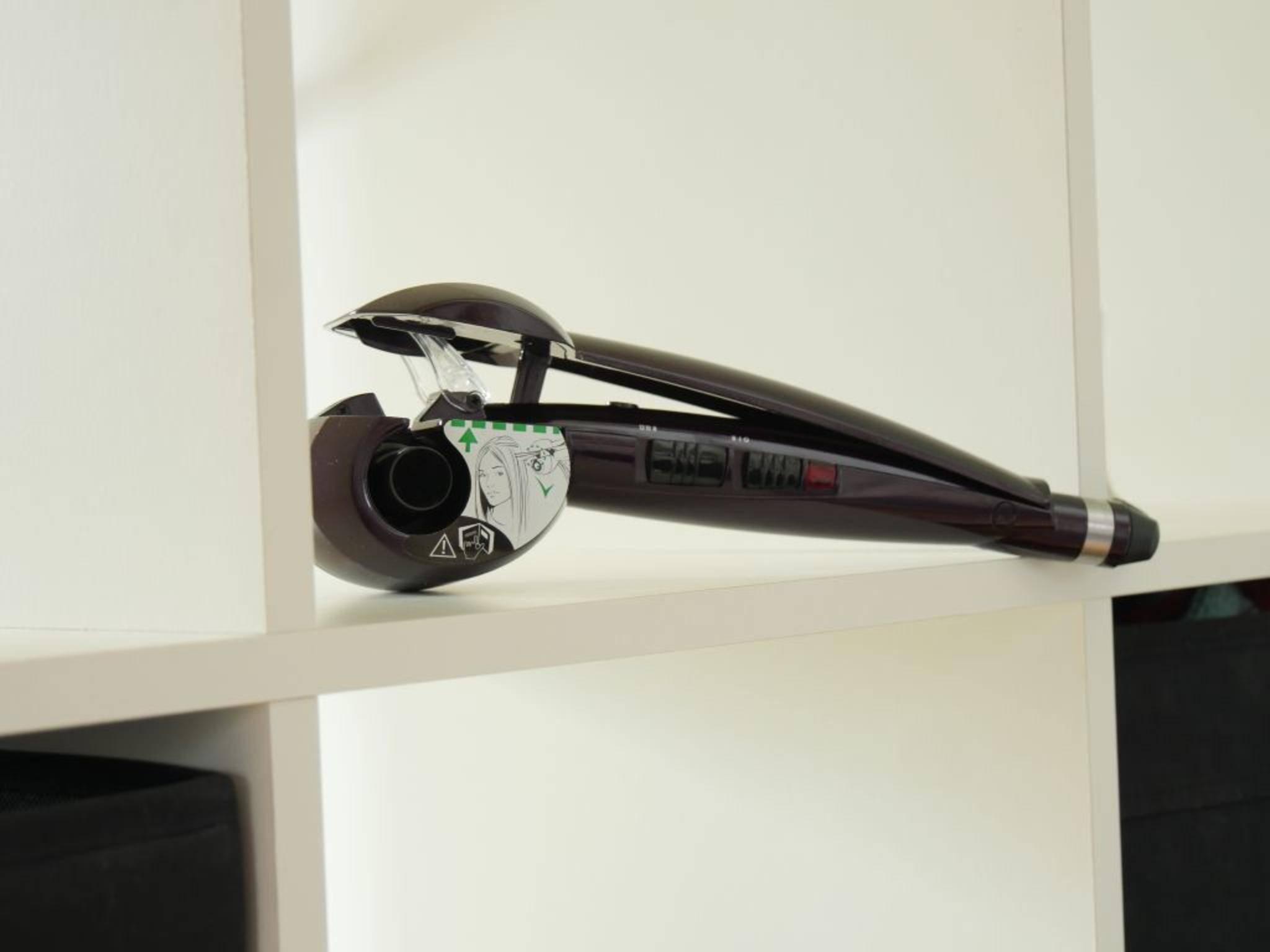Der Babyliss C1000E Curl Secret ist ausschließlich in Lila erhältlich.