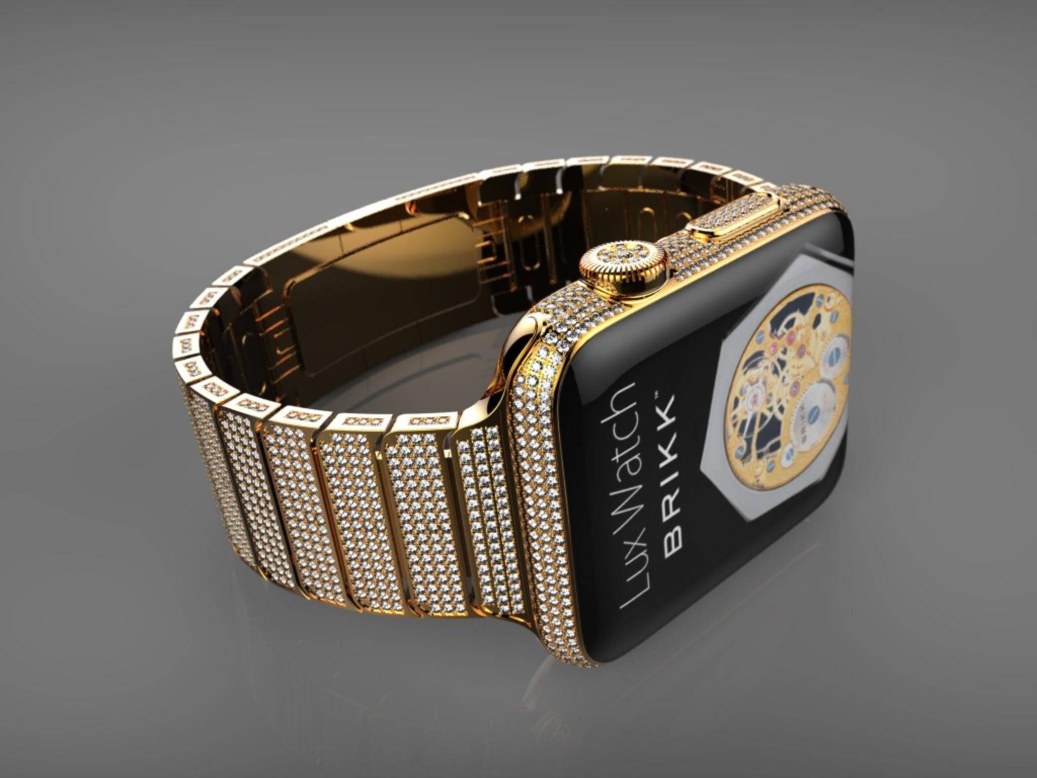 Die Brikk Lux Watch Omni kostet bis zu 75.000 US-Dollar.