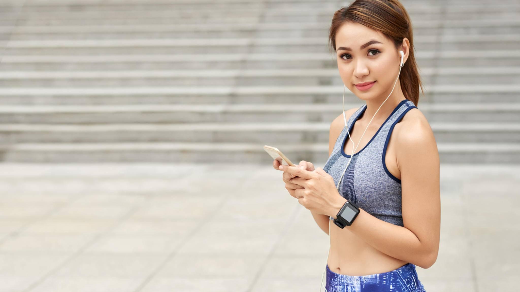 Erst in Kombination mit der zugehörigen App können die verschiedenen Fitness-Tracker ihr volles Potenzial ausschöpfen.