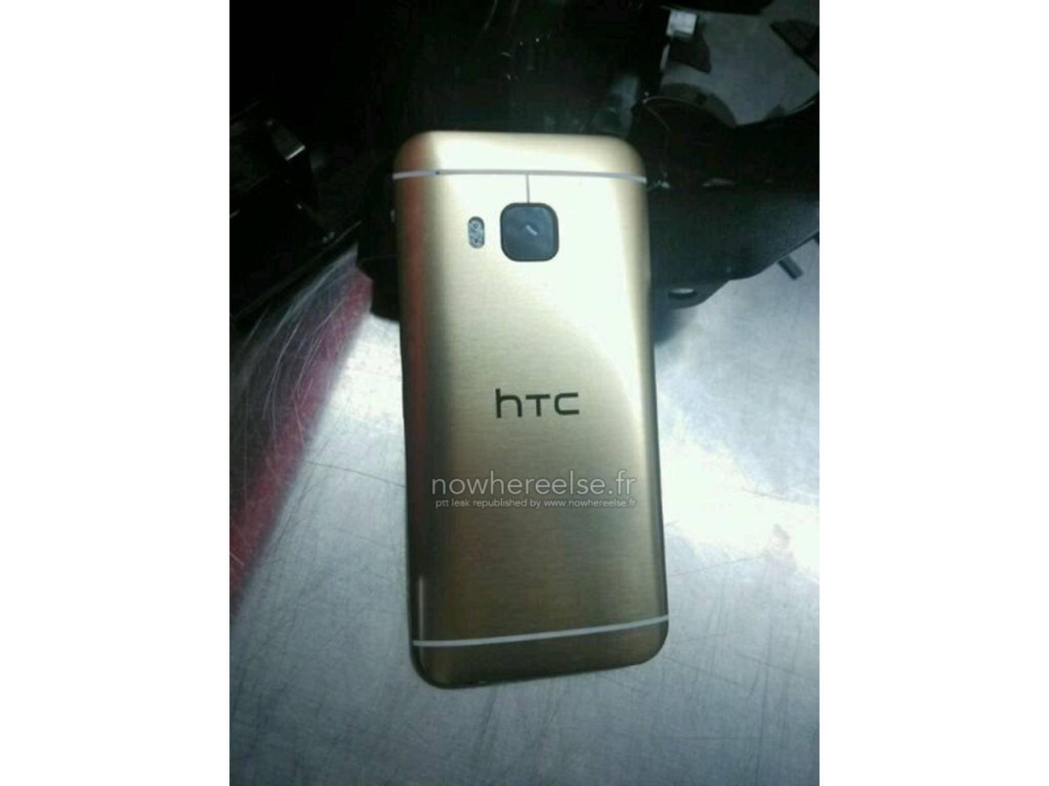Ein Leak weist auf eine goldene Variante des HTC One M9 hin.