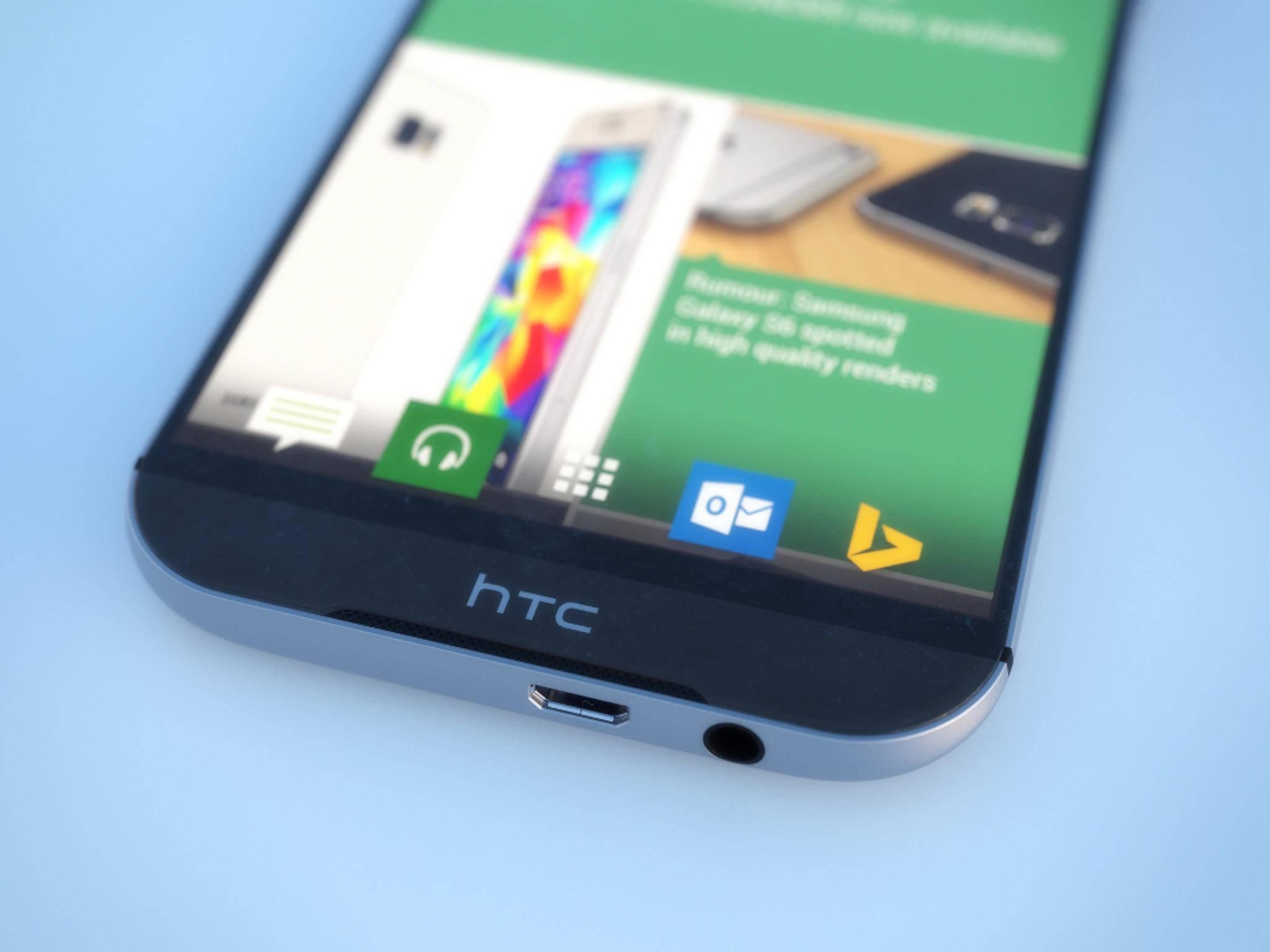 Wird so das HTC One M9 aussehen? Am 1. März werden wir es erfahren.