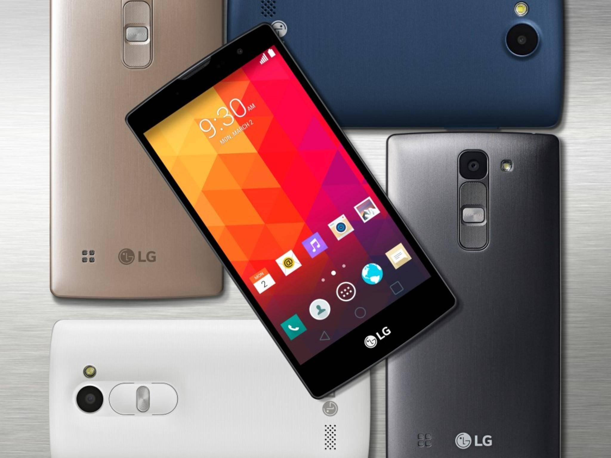 Klein und günstig: LGs Mittelklasse-Smartphones sollen neue Käuferschichten ansprechen.
