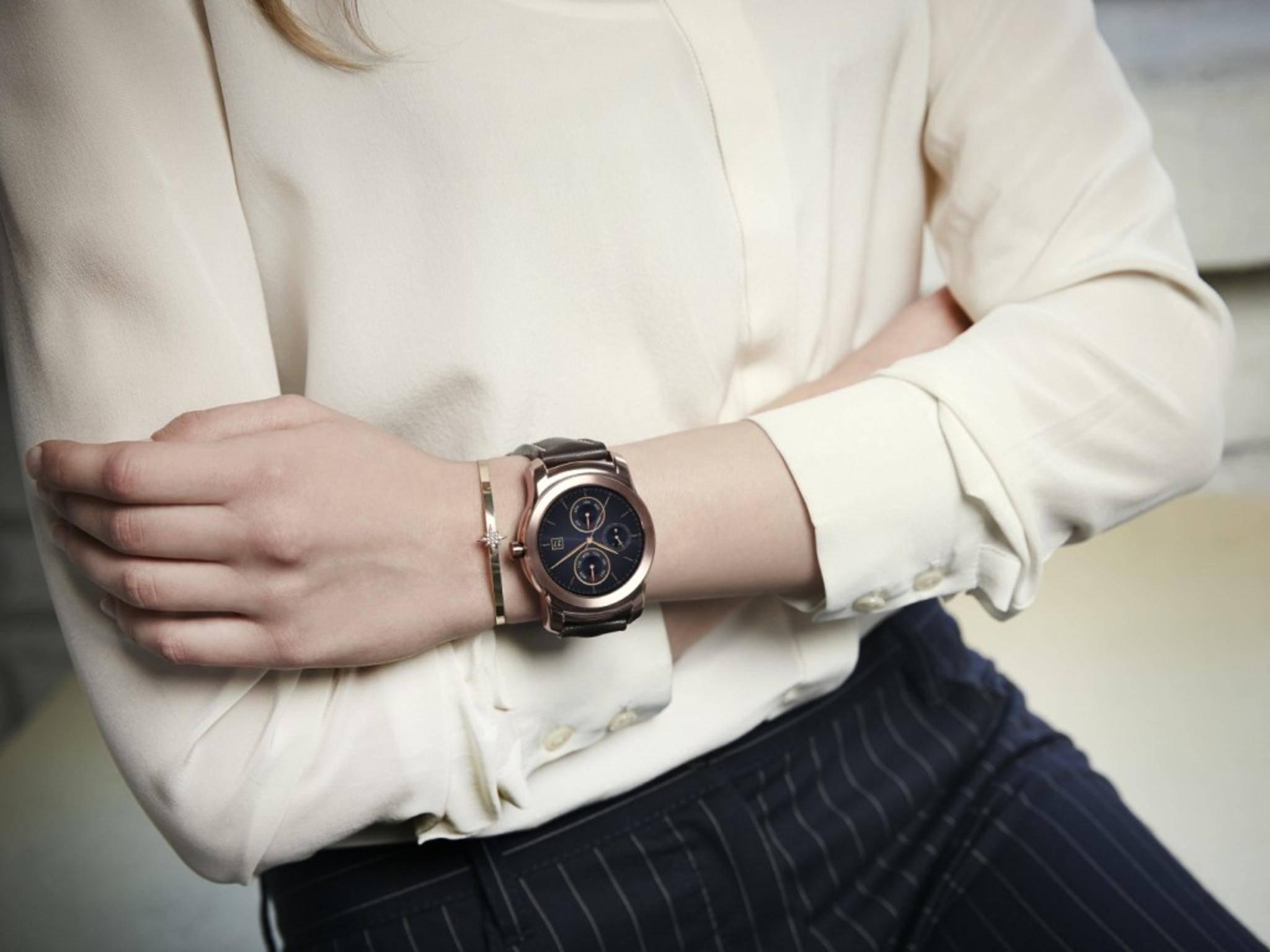 Die LG Watch Urbane soll es mit der Apple Watch aufnehmen.