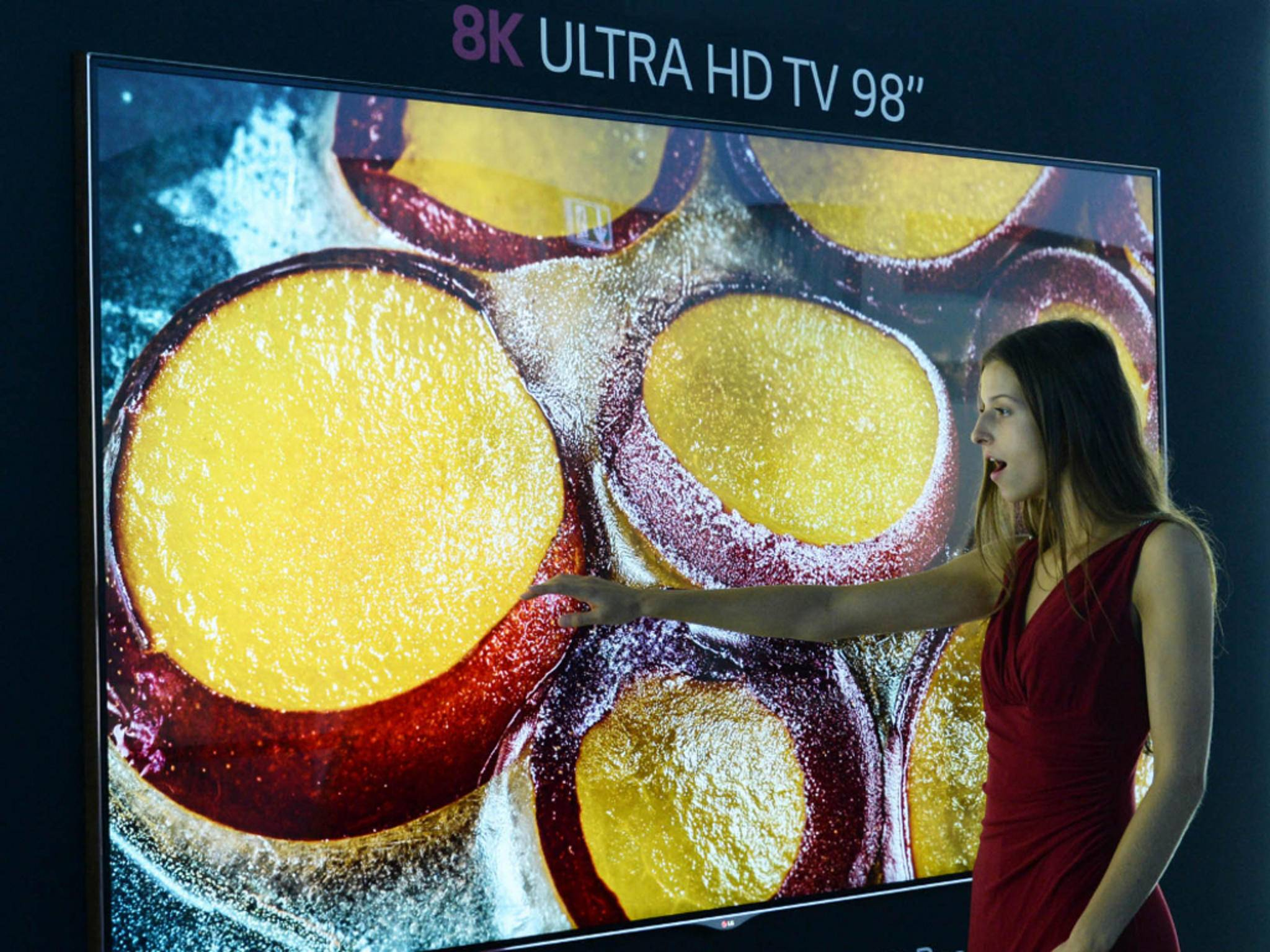 8K-Display von LG auf der IFA 2014