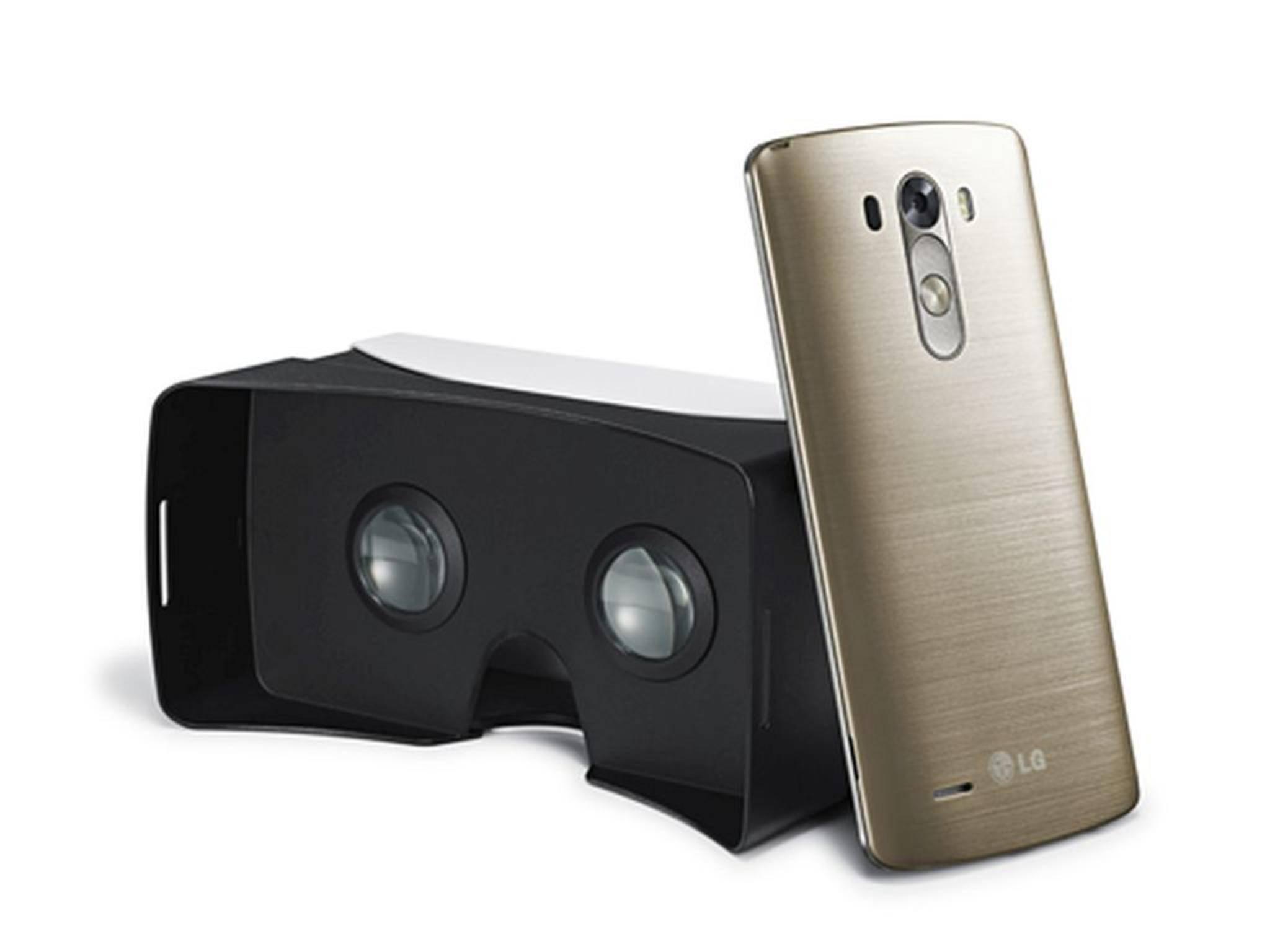 Dynamisches Duo: Zum G3 gibt's auf Wunsch eine VR-Brille gratis dazu.