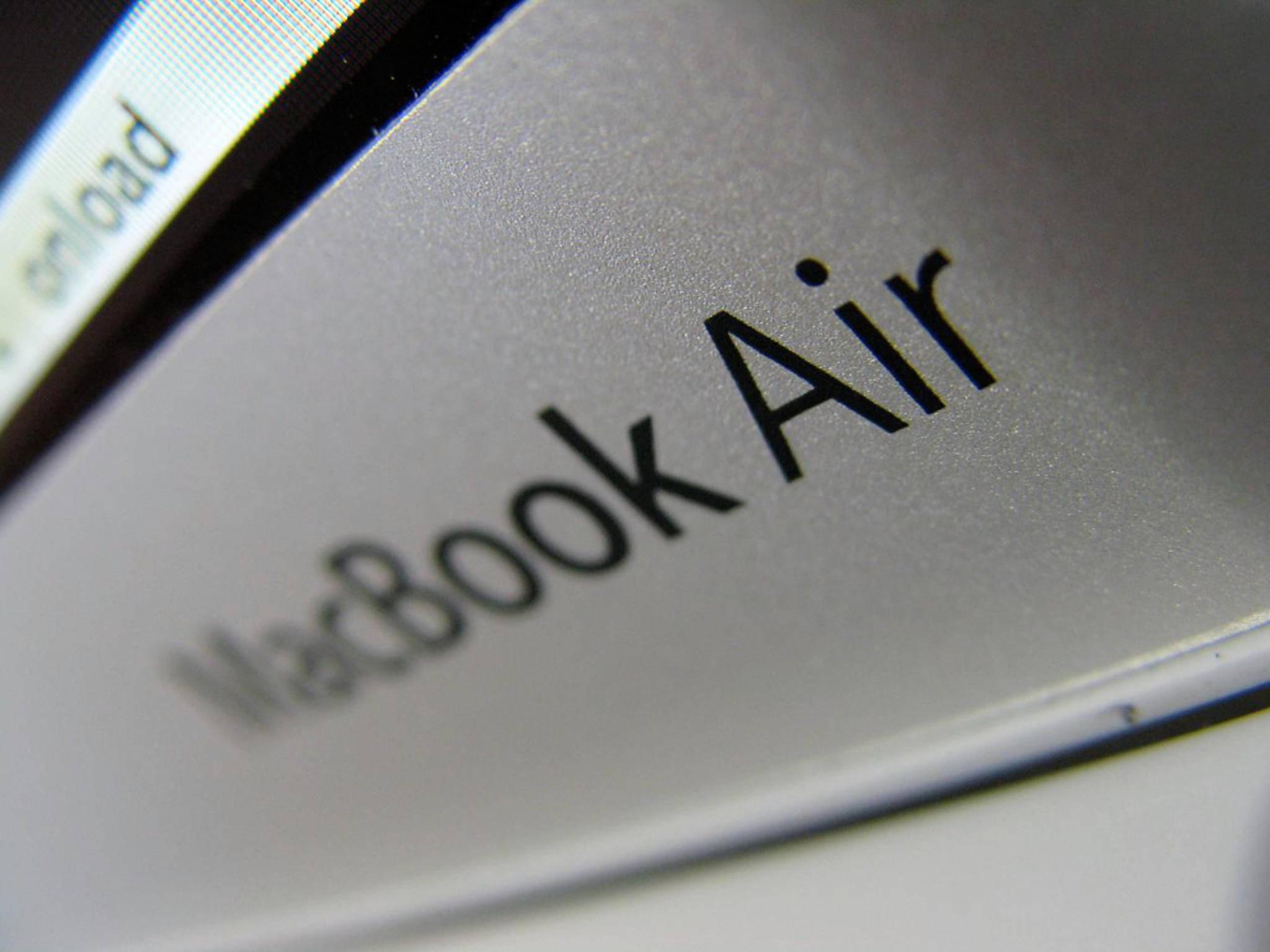 Der Release der neuen MacBook Air-Generation steht offenbar kurz bevor.
