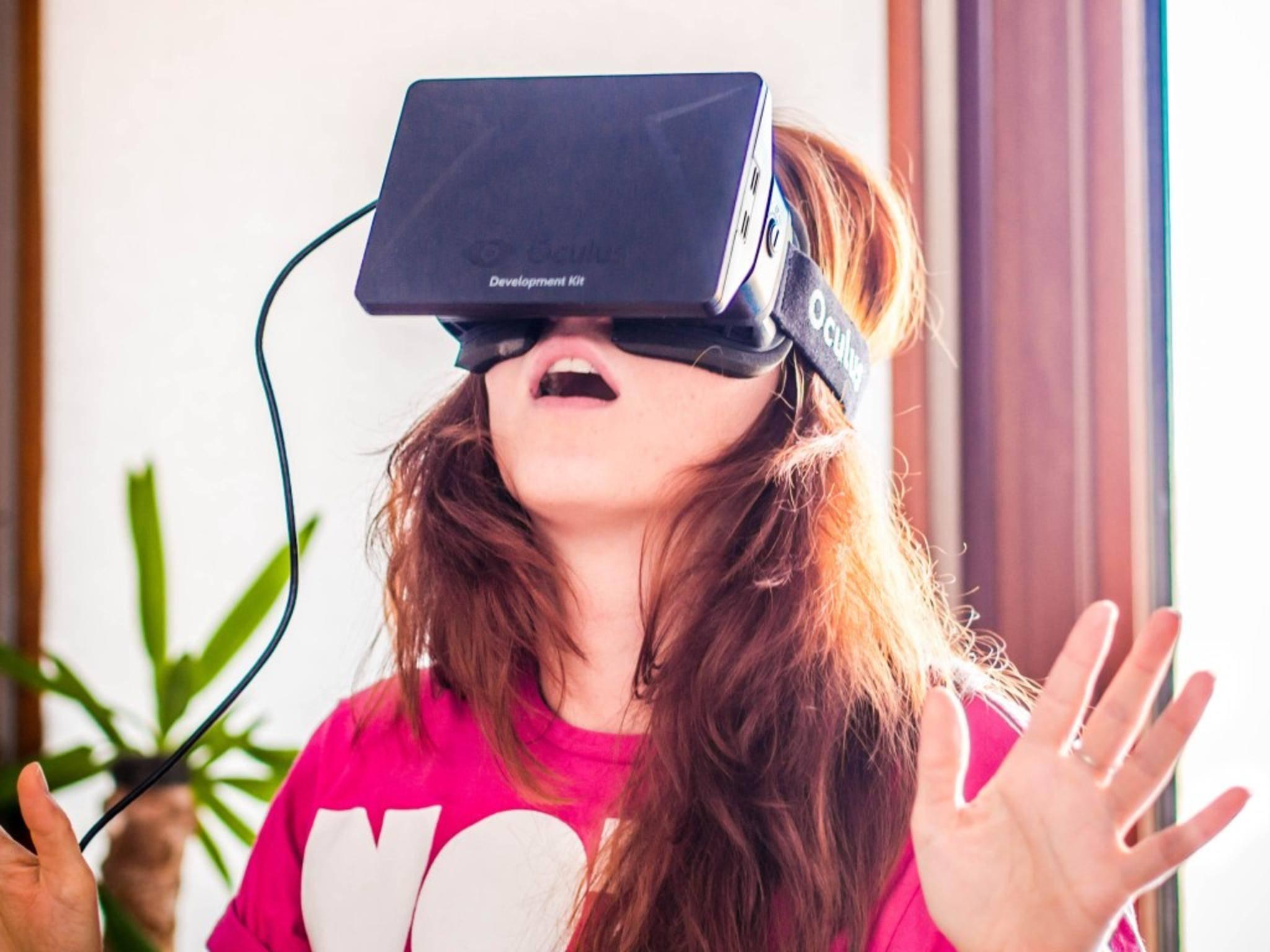 Die Brille Oculus Rift erlaubt intensive räumliche Erlebnisse.