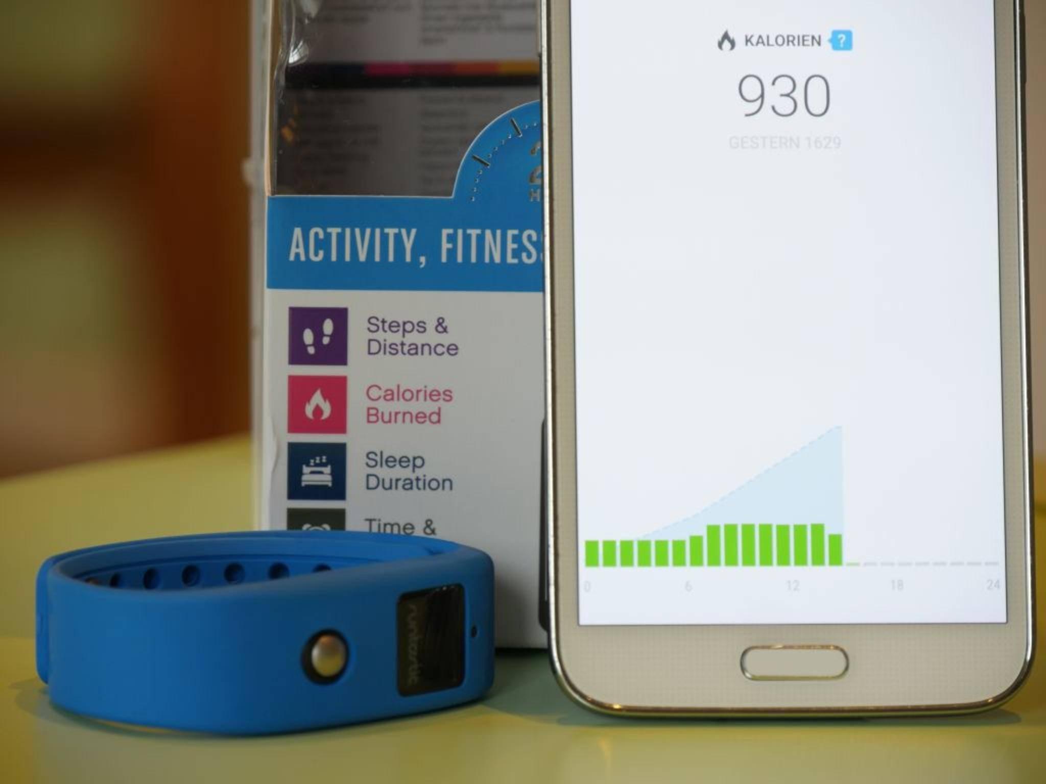 Viele Fitness-Apps können mit Fitness-Trackern zusammenarbeiten.