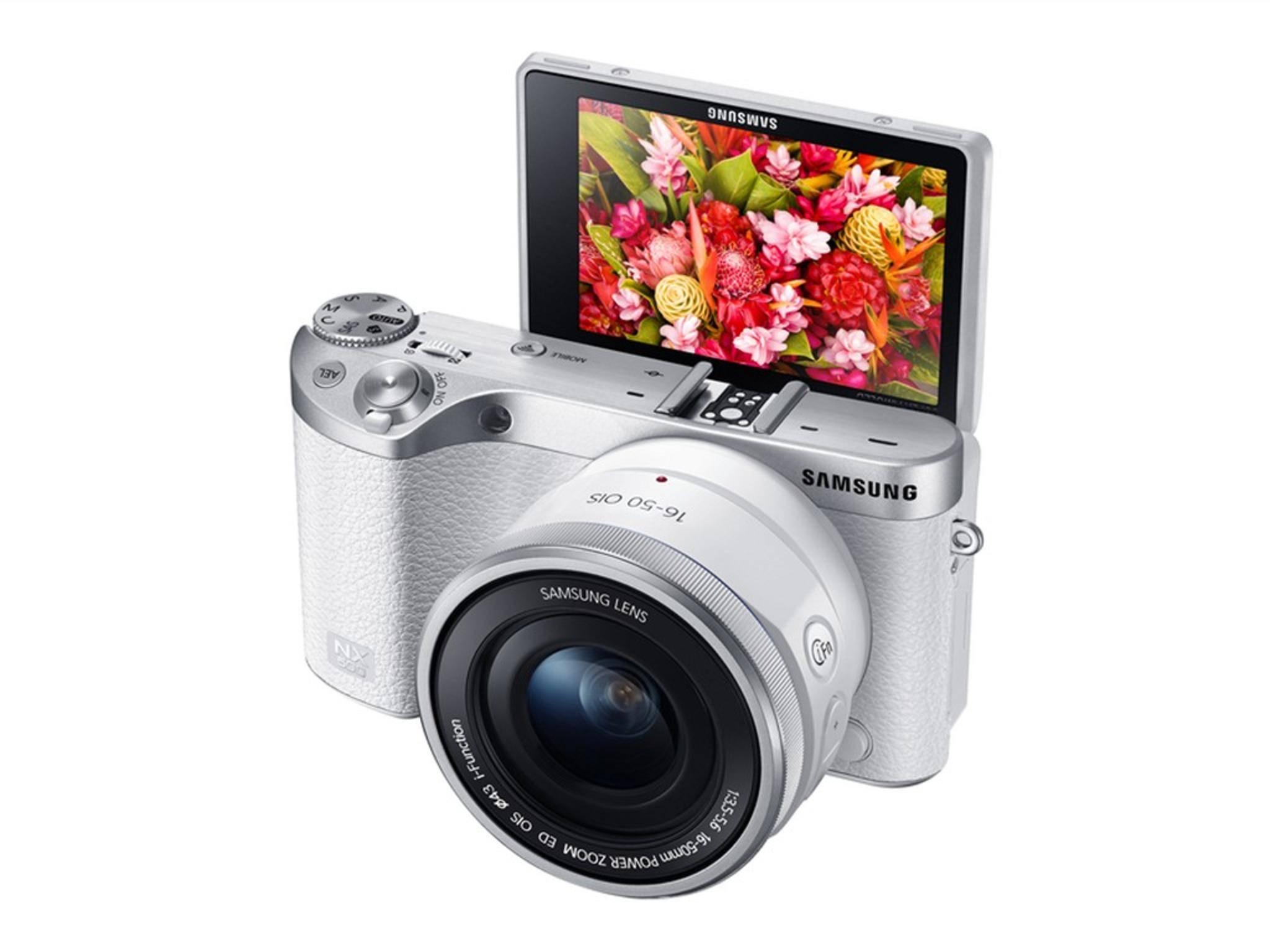 Die Samsung NX500 ist quasi eine geschrumpfte NX1.