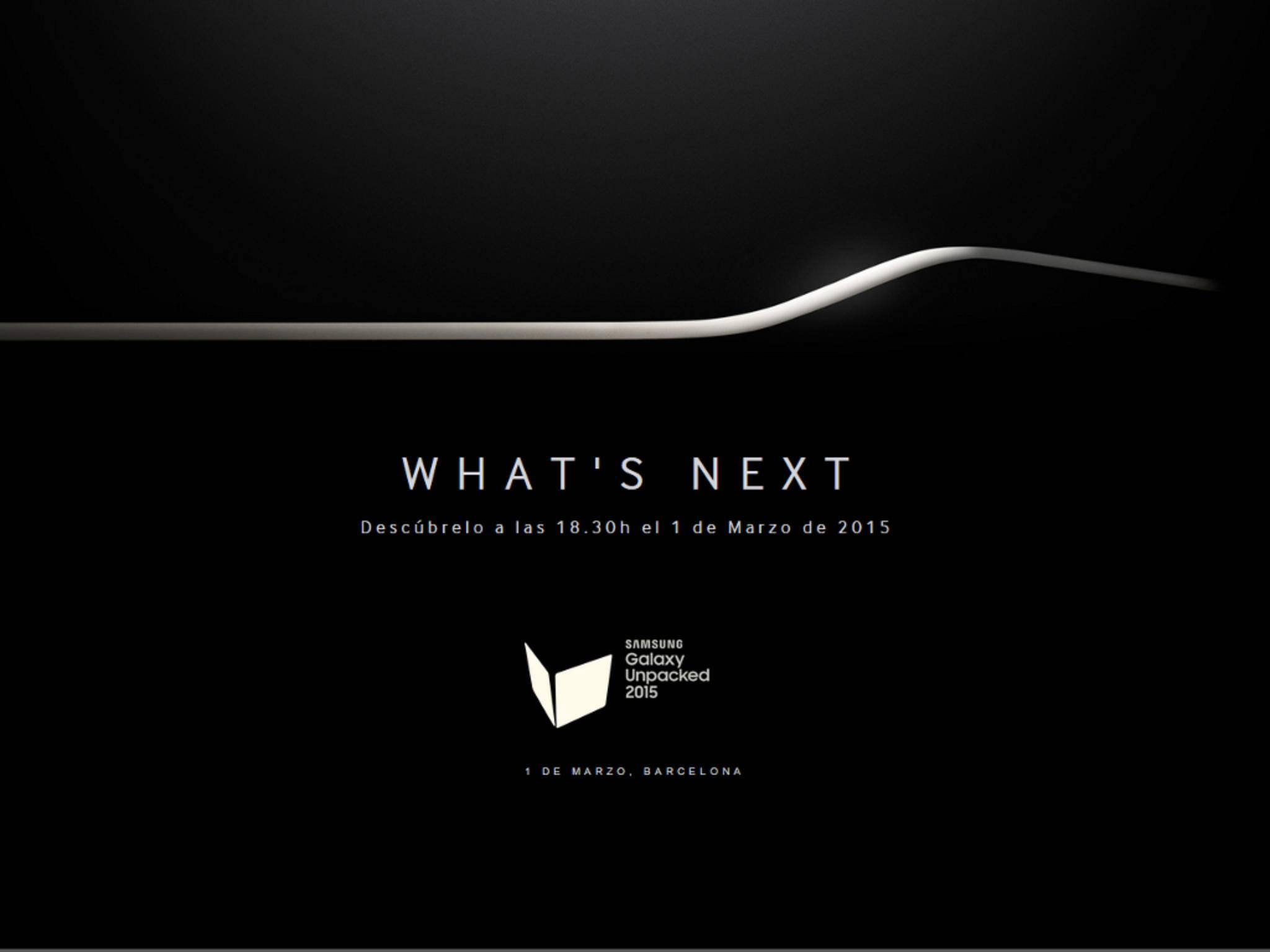 Samsung Unpacked 2015 startet am 1. März um 18:30 Uhr.