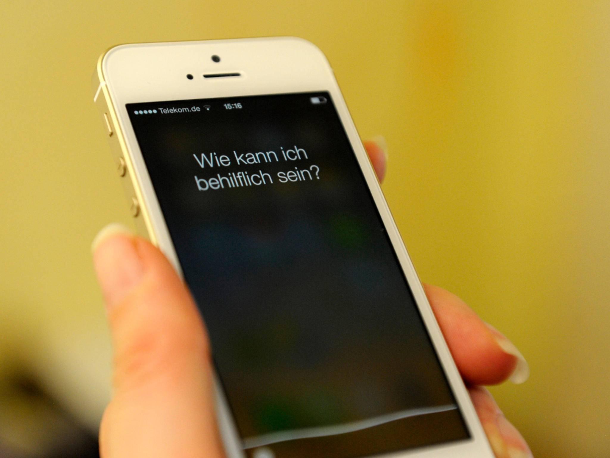 Siri kann bald auch Telefonate auf den Lautsprecher vermitteln.
