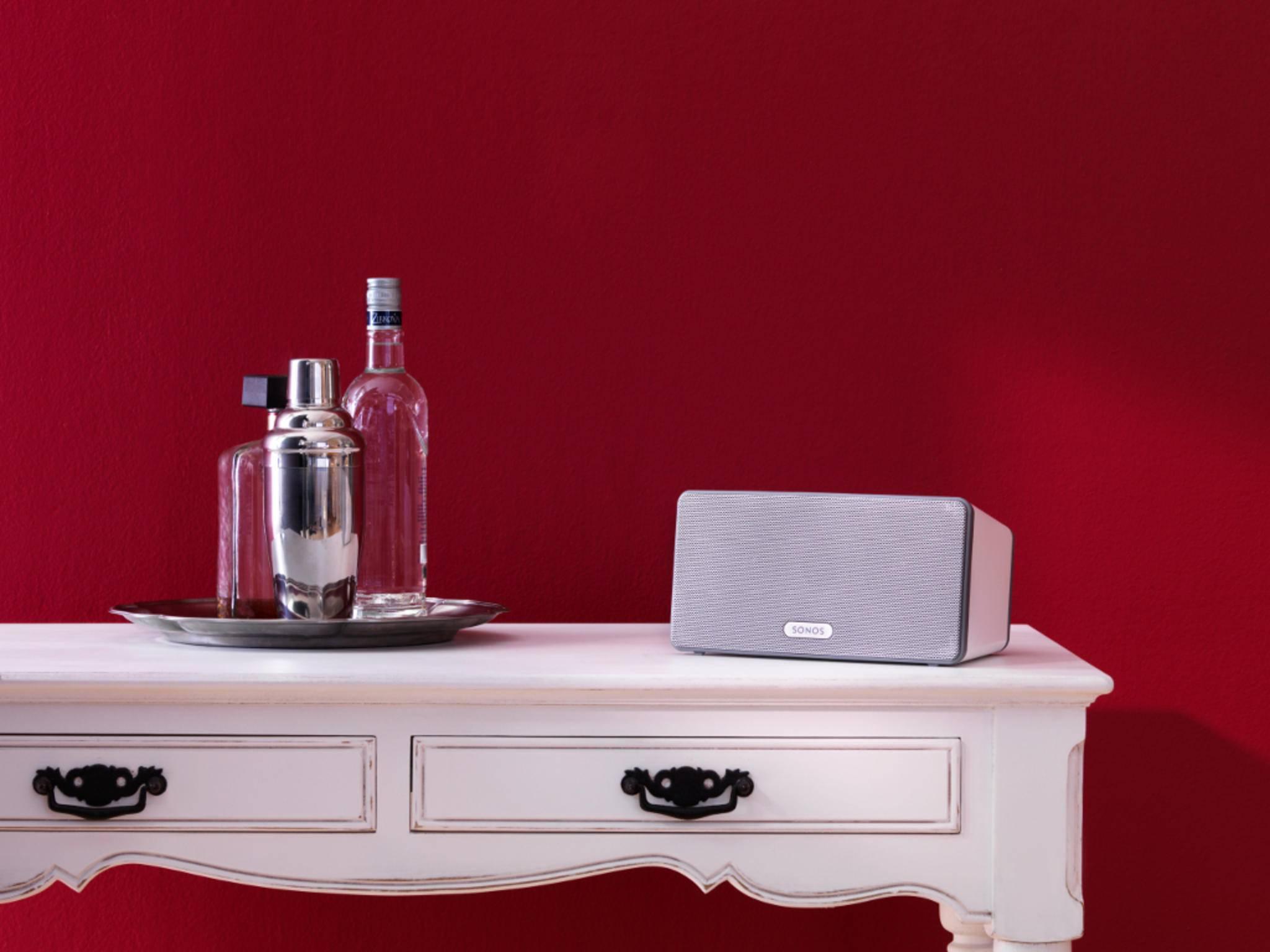 Sonos-Lautsprecher sind auch mit iTunes-Playlisten kompatibel.