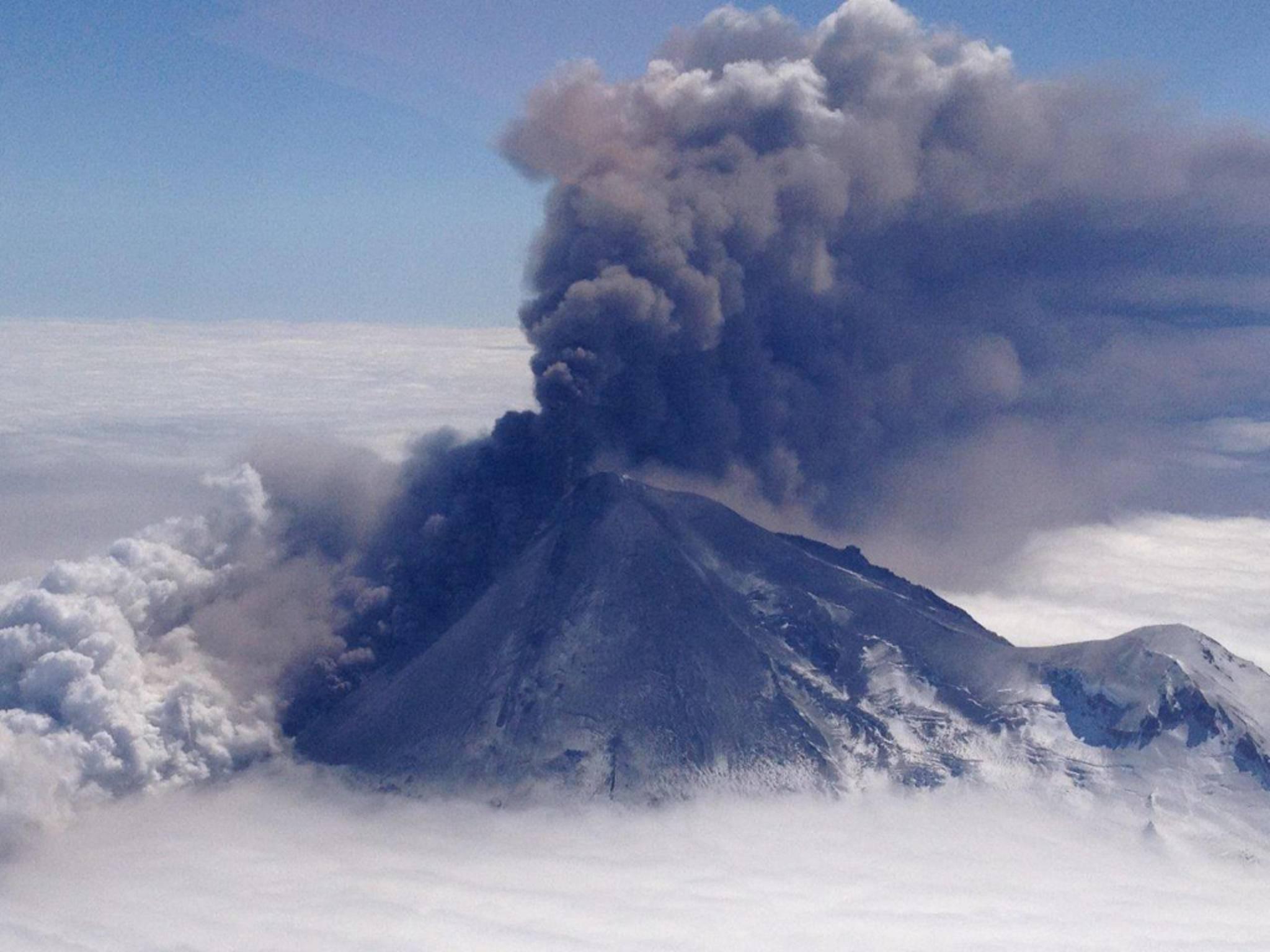 Ausbruch eines Supervulkans - Wahrscheinlichkeit: 0,00003 Prozent.