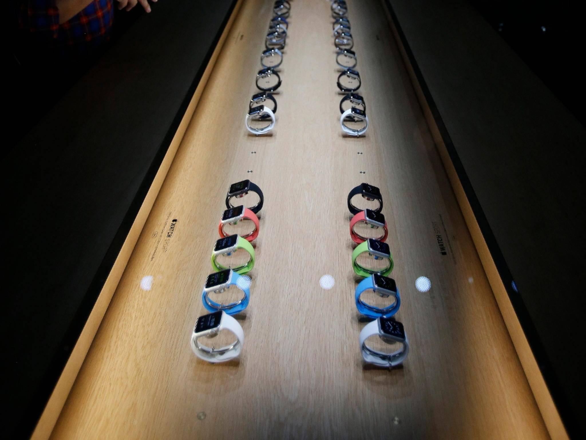 Die Apple Watch soll den Smartwatch-Markt revolutionieren.
