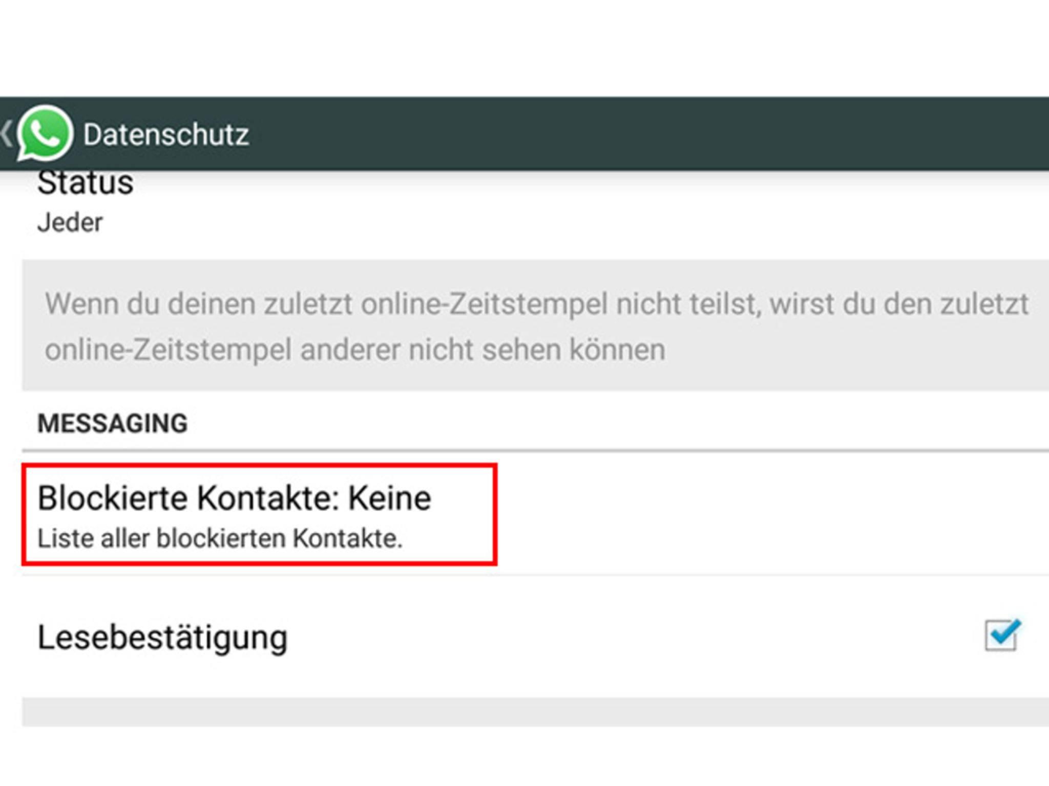 Whatsapp Kontakte Auf Dem Iphone Und Bei Android Blockieren