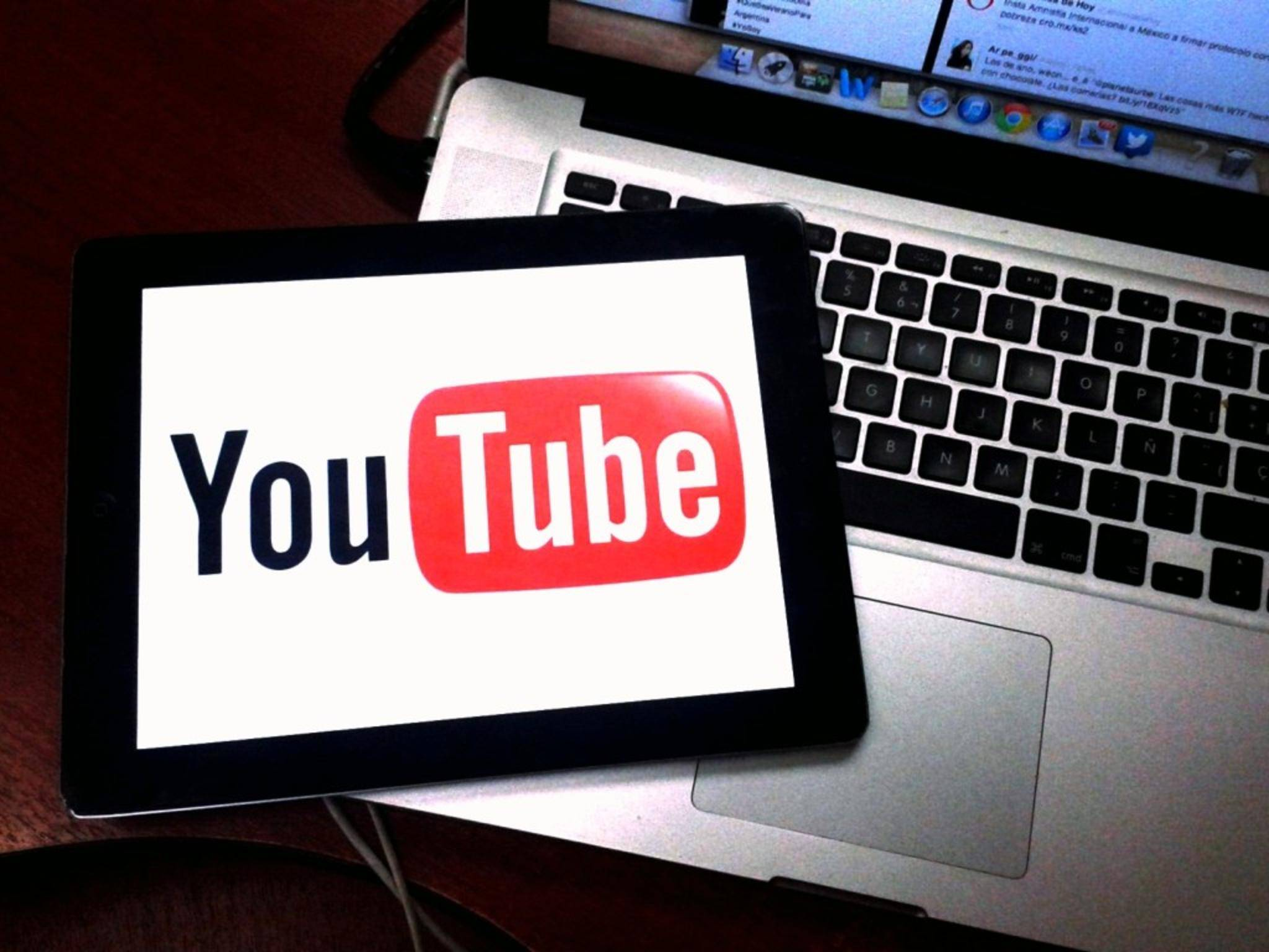 YouTube wird von Google+ geschieden.