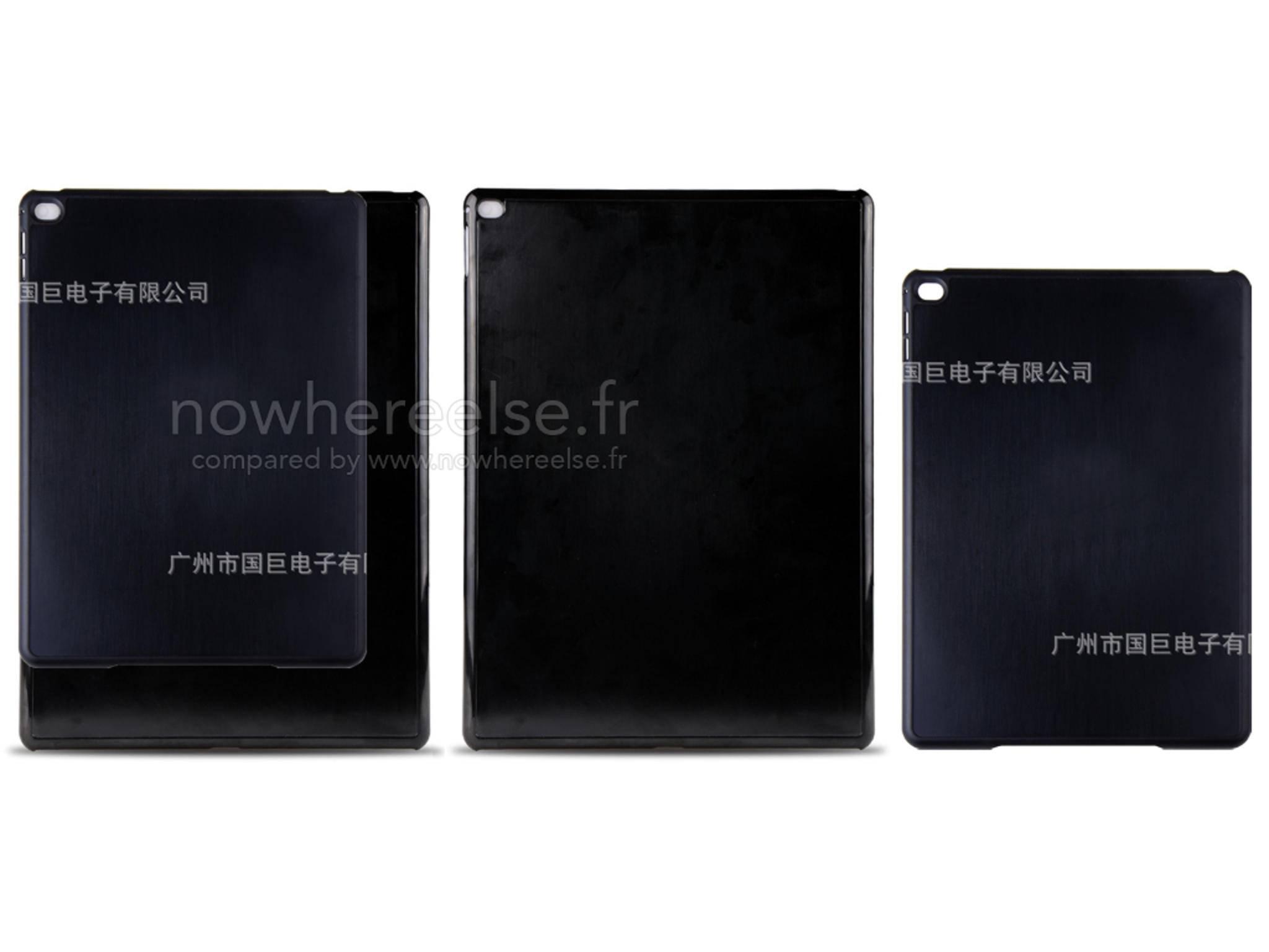 So soll ein Case für das iPad Plus aussehen.