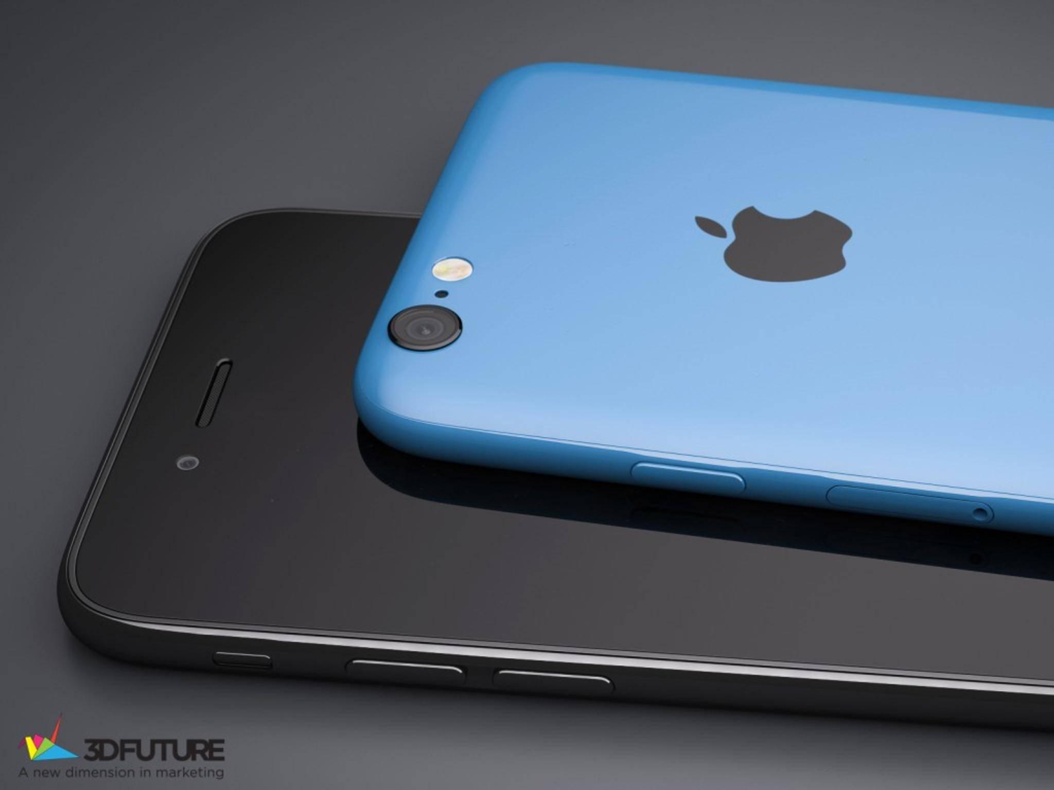 Das iPhone 6s könnte auch eine farbige Version bekommen.