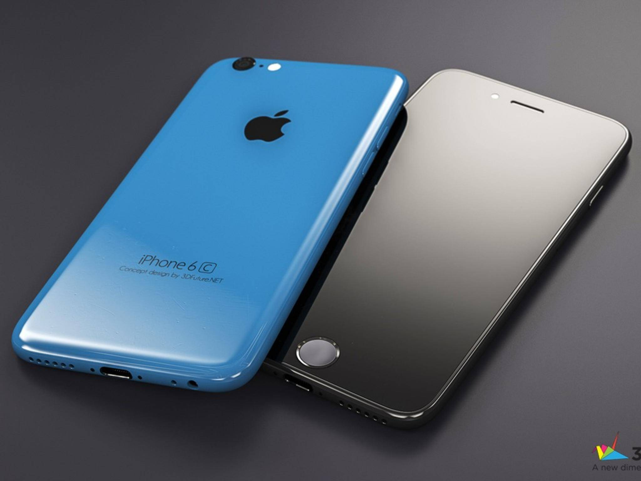Bringt Apple ein iPhone 6c heraus, könnte es etwa so aussehen.