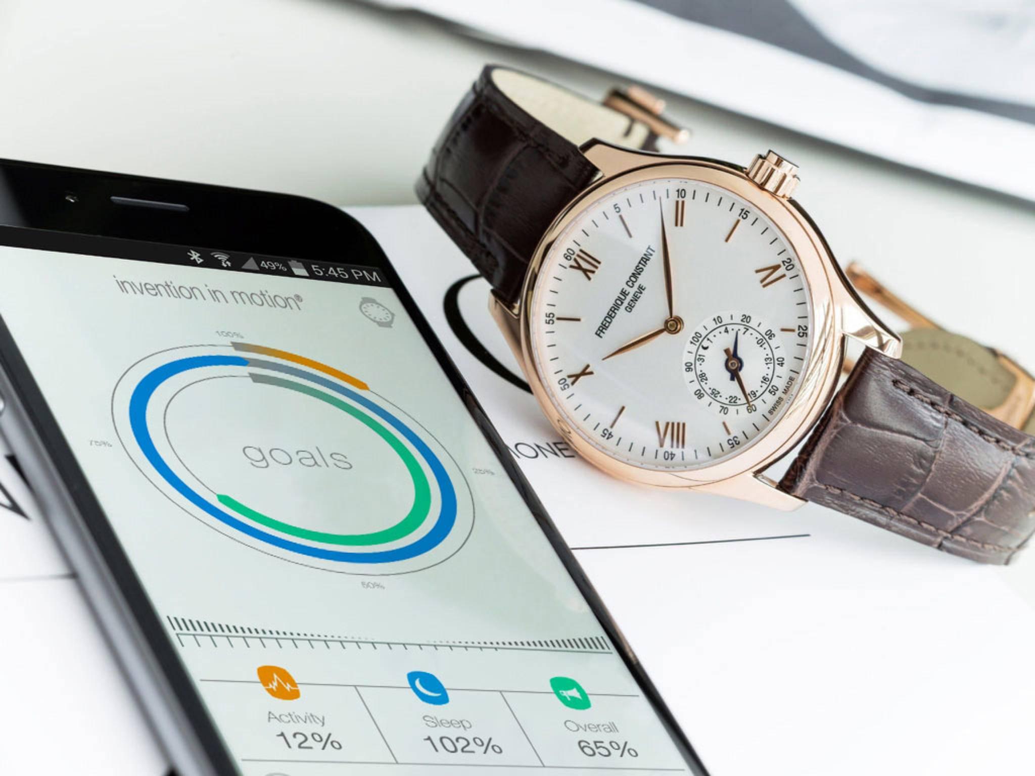 In diesem Jahr sollen noch zehn Uhren auf Basis von MotionX erscheinen.