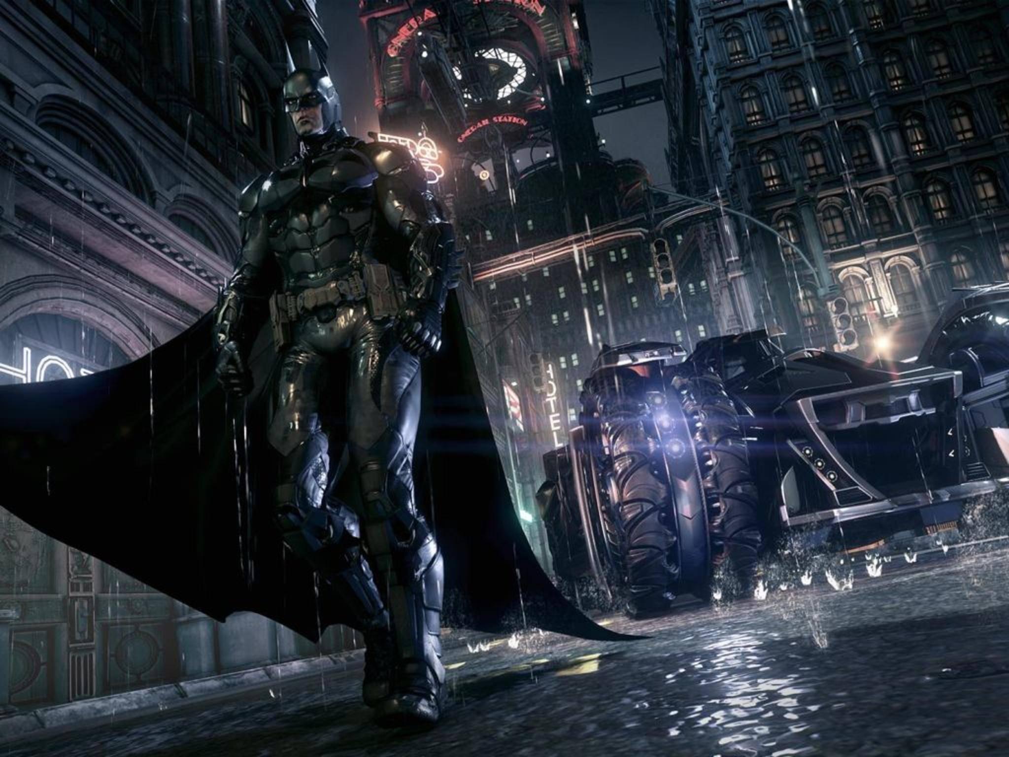Kein Garant für gute Laune: Im nächsten Batman-Spiel wird's wieder düster.