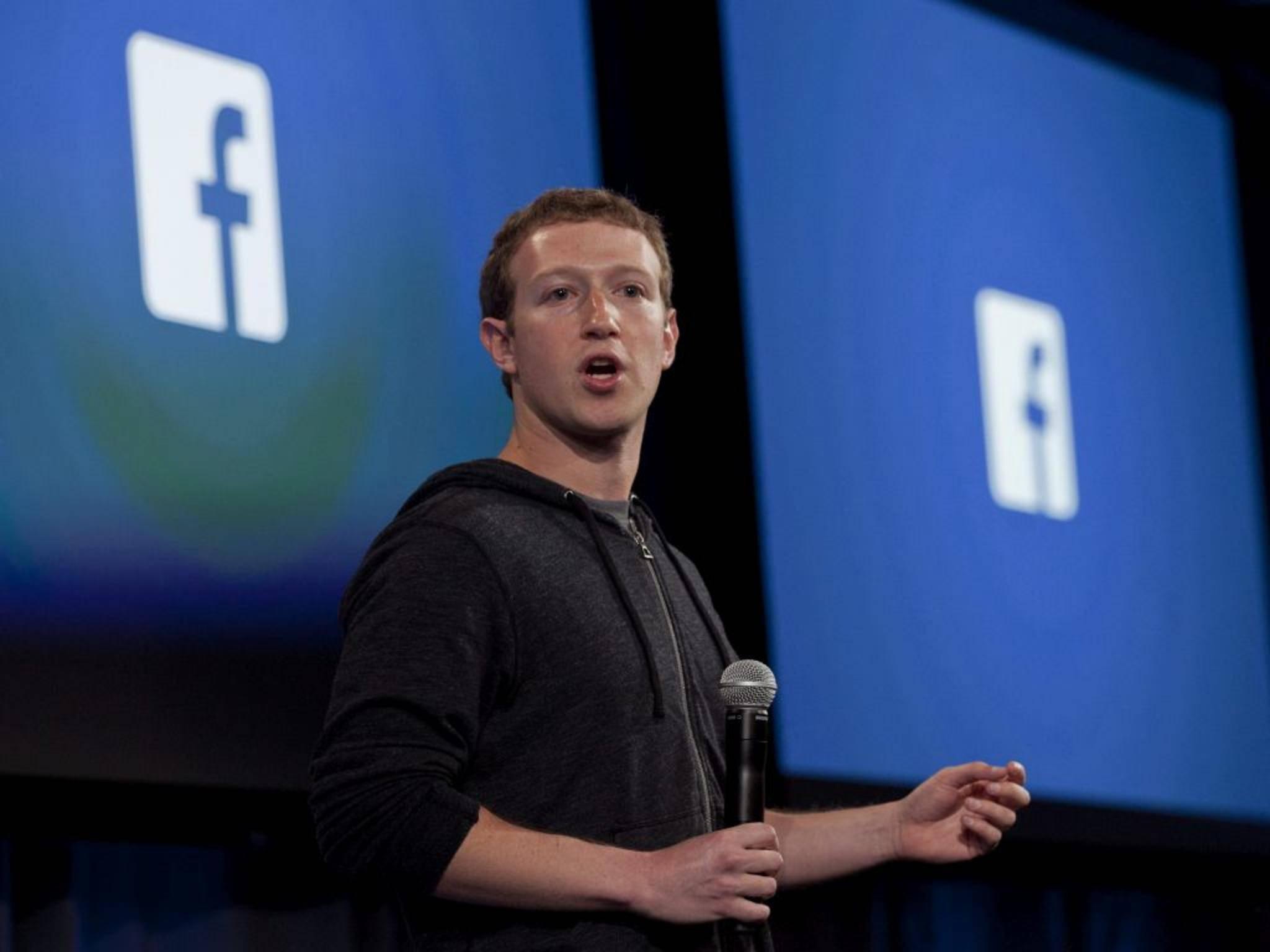 Facebook-Erfinder Mark Zuckerberg belegt mit 33,4 Milliarden Dollar Platz 4.