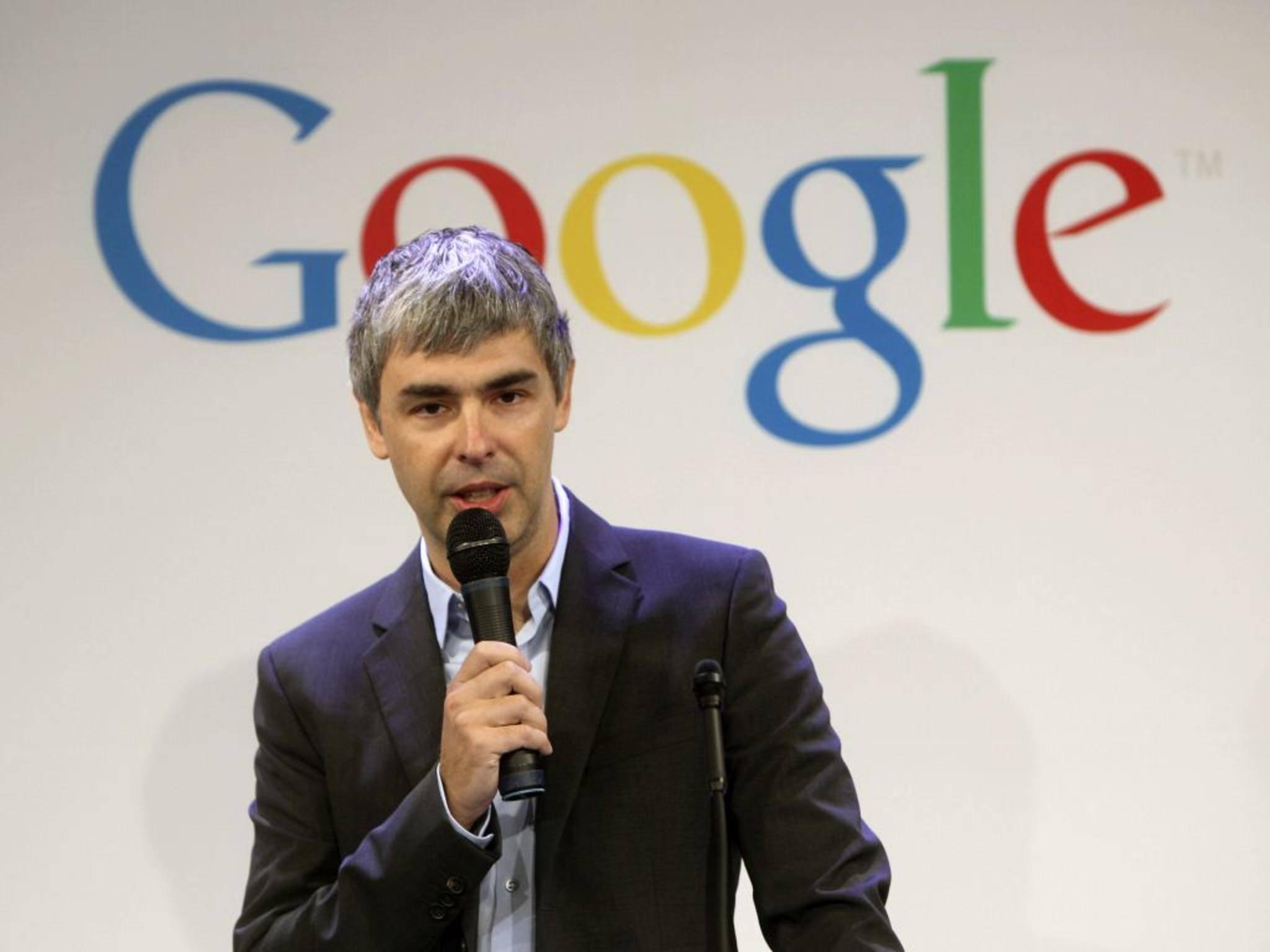 Google-CEO Larry Page landet mit 29,7 Milliarden Dollar auf Rang 5.