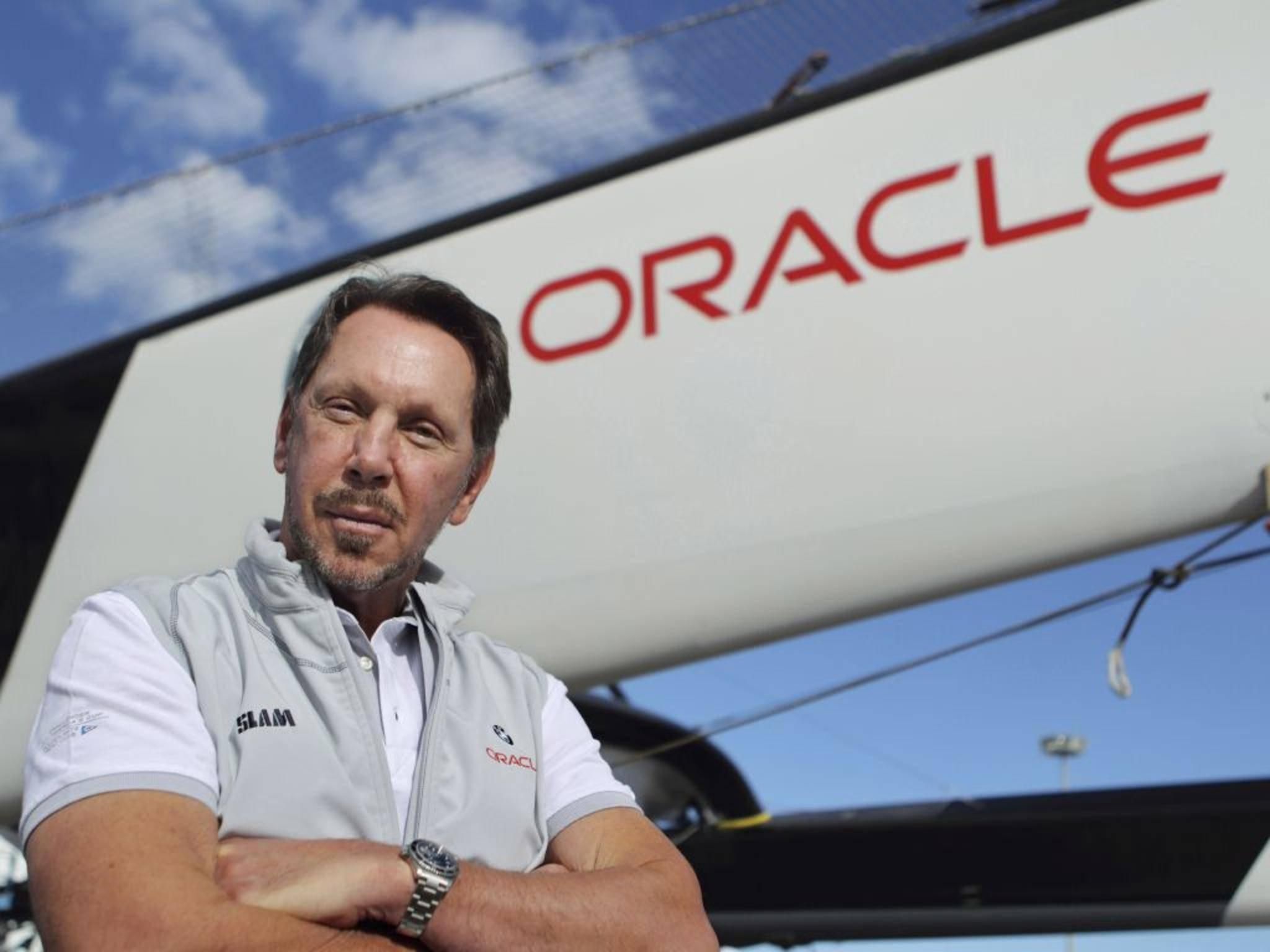 Oracle-Gründer Larry Ellison steht auf Platz 2 mit  54,3 Milliarden Dollar.