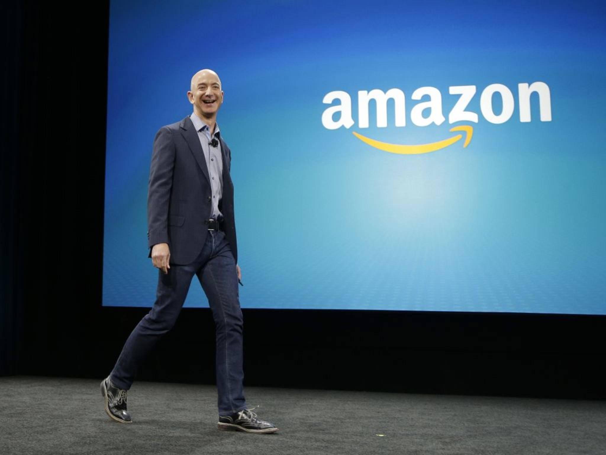 34,8 Milliarden Dollar: Amazons CEO Jeff Bezos liegt auf Rang 3.