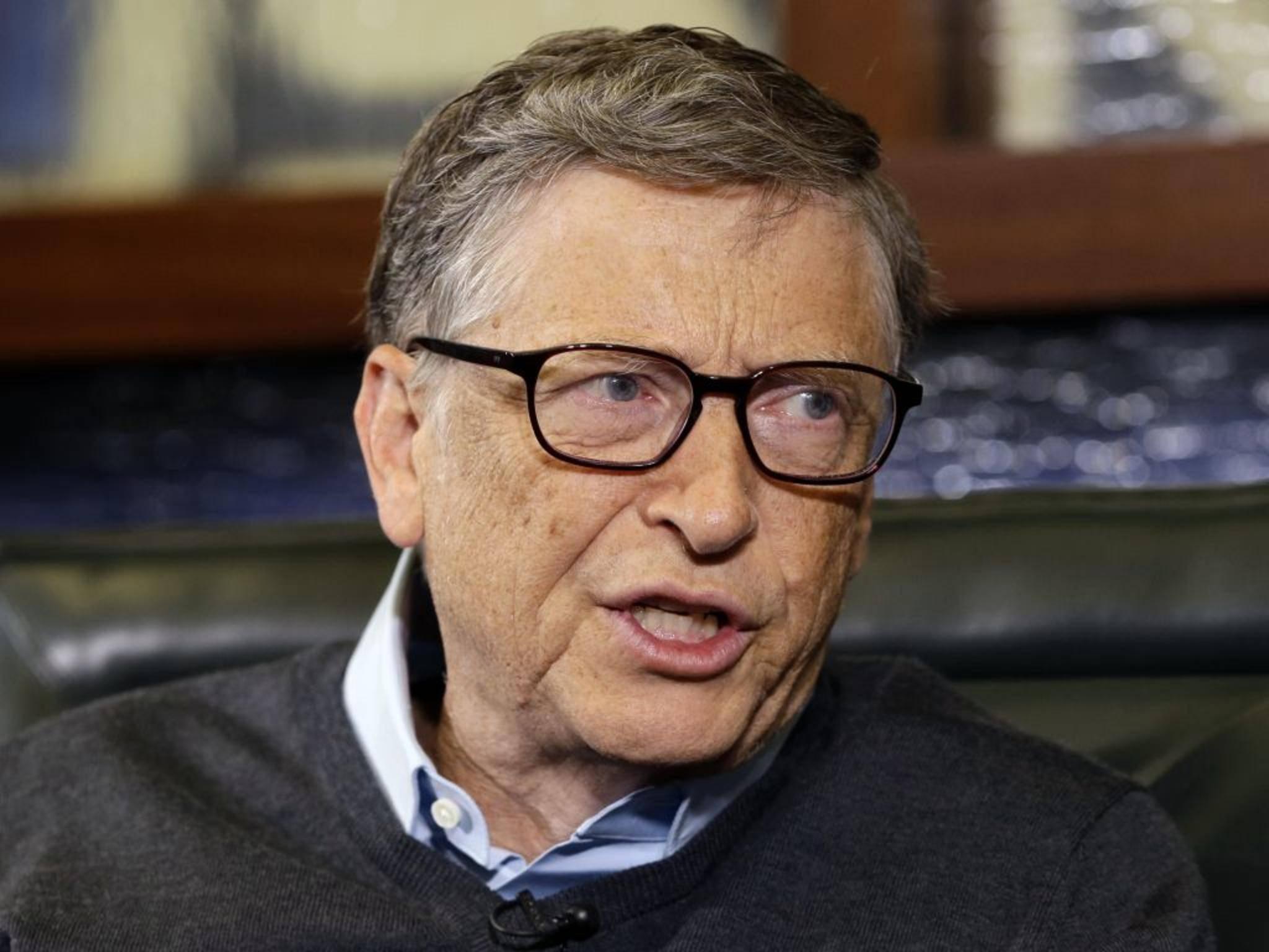 Bill Gates ist der reichste Mensch der Welt mit einem Vermögen von 79,2 Milliarden Dollar.