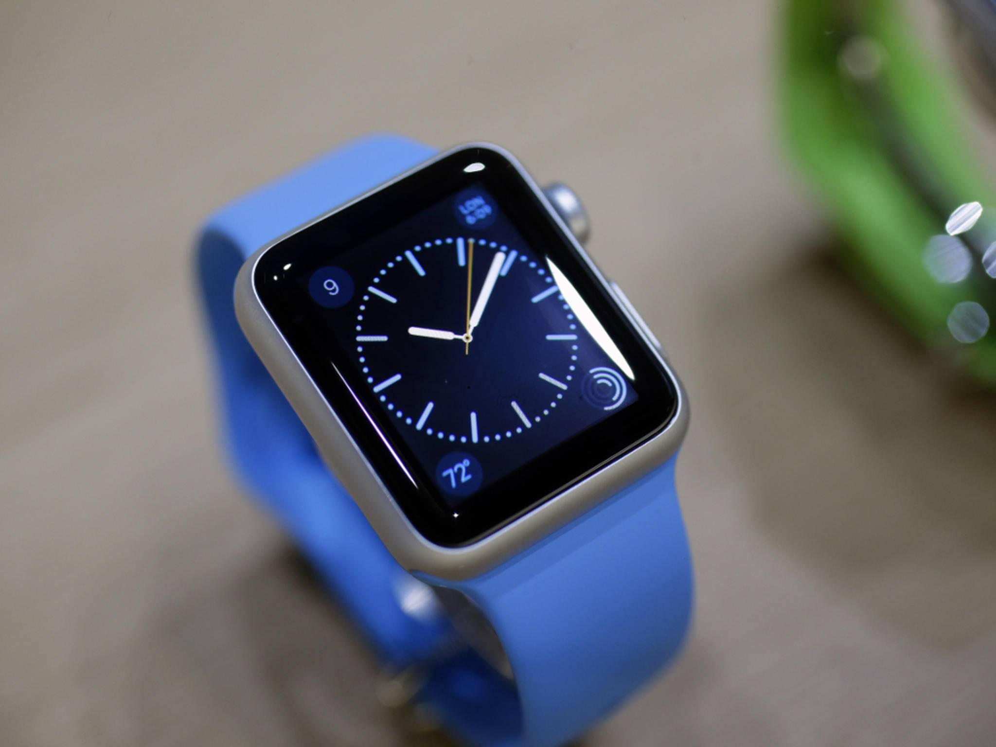Die Apple Watch erscheint am 24. April.