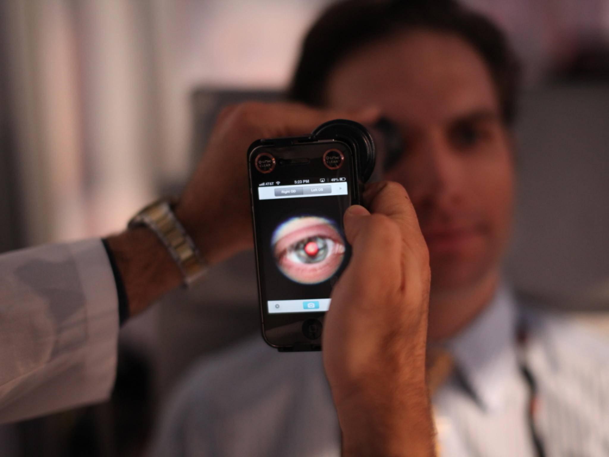 Ein neuer Iris-Scanner könnte in das nächste Samsung-Flaggschiff eingebaut werden.