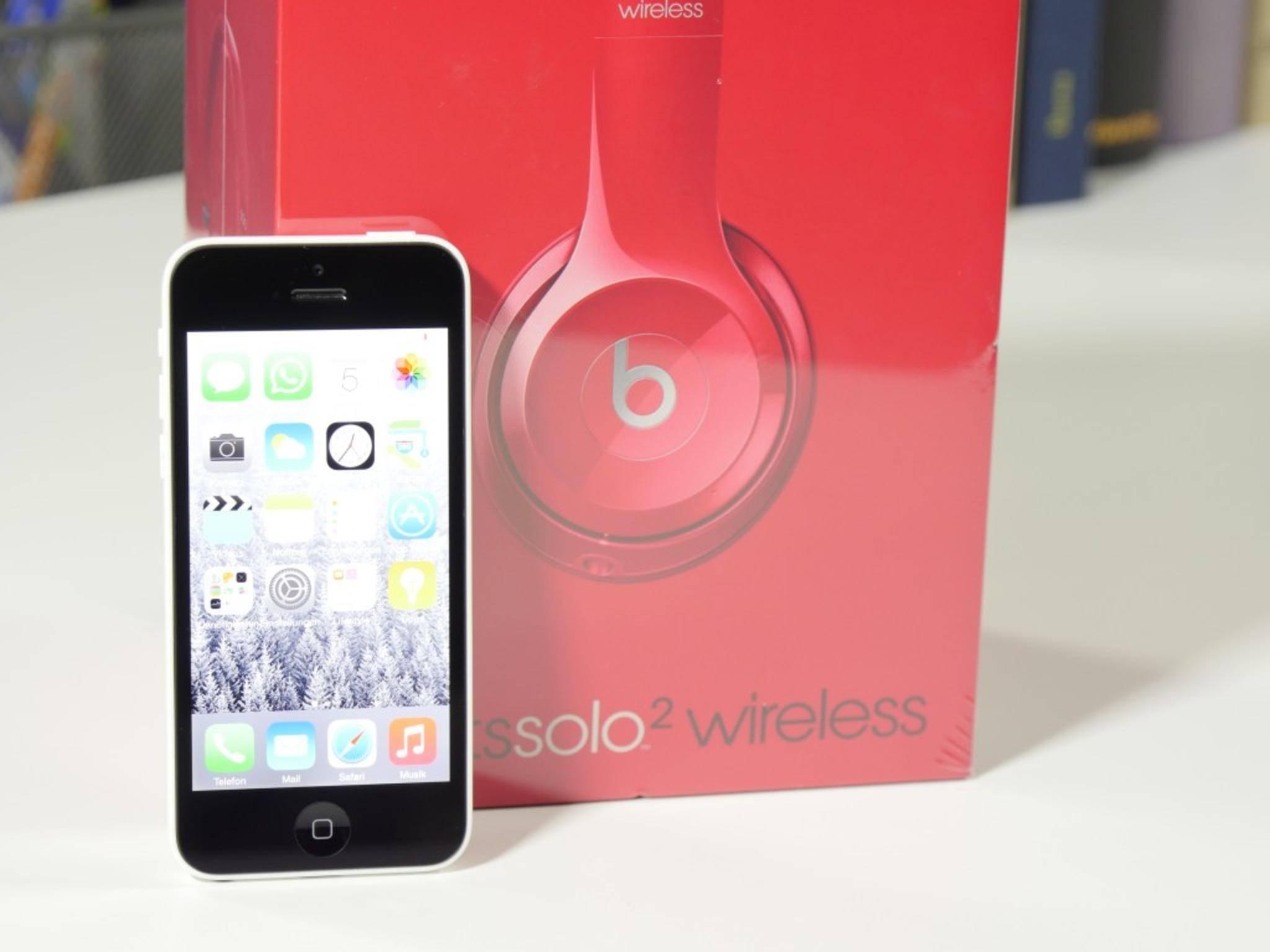Mit einem iPhone arbeitet der Solo 2 Wireless natürlich besonders gut zusammen.