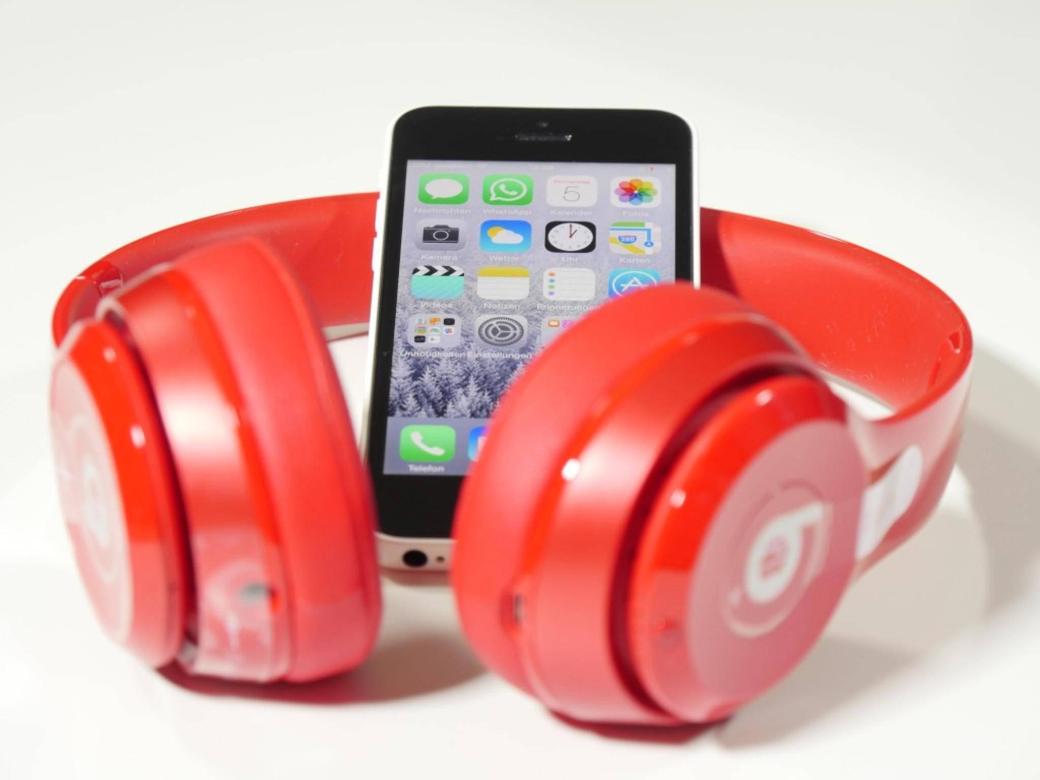 Die Bluetooth-Reichweite beträgt circa zehn Meter.