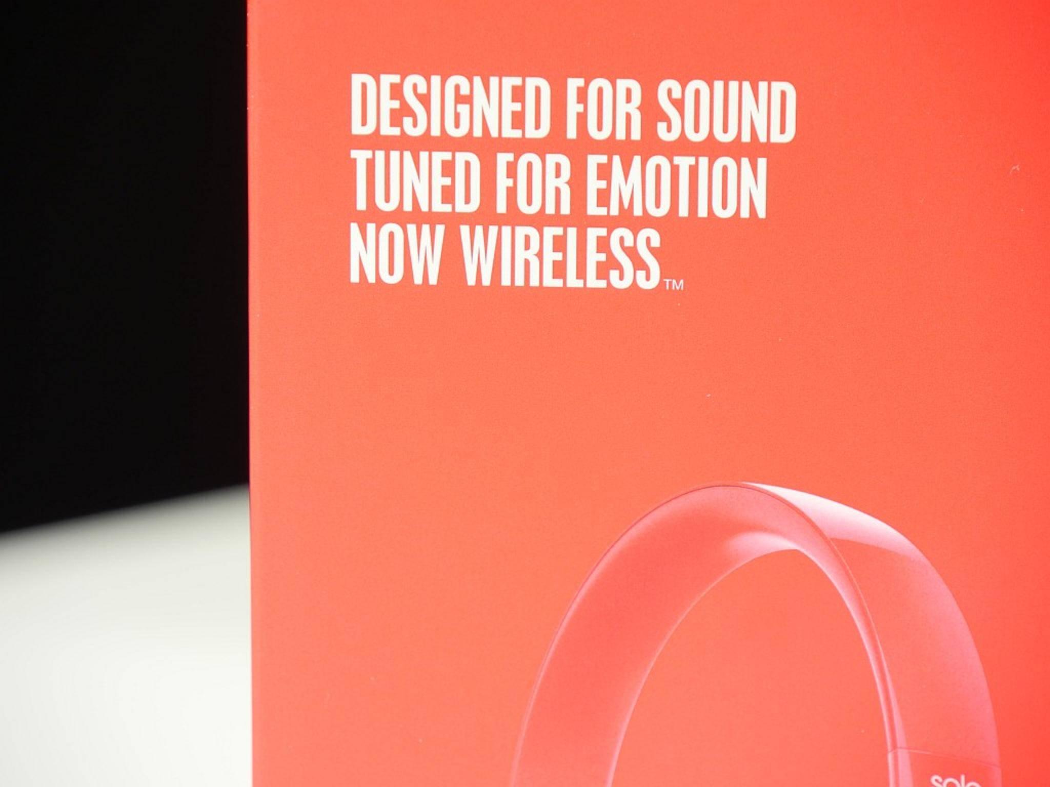 Die stylische Verpackung des Solo 2 Wireless verspricht bereits Großes.