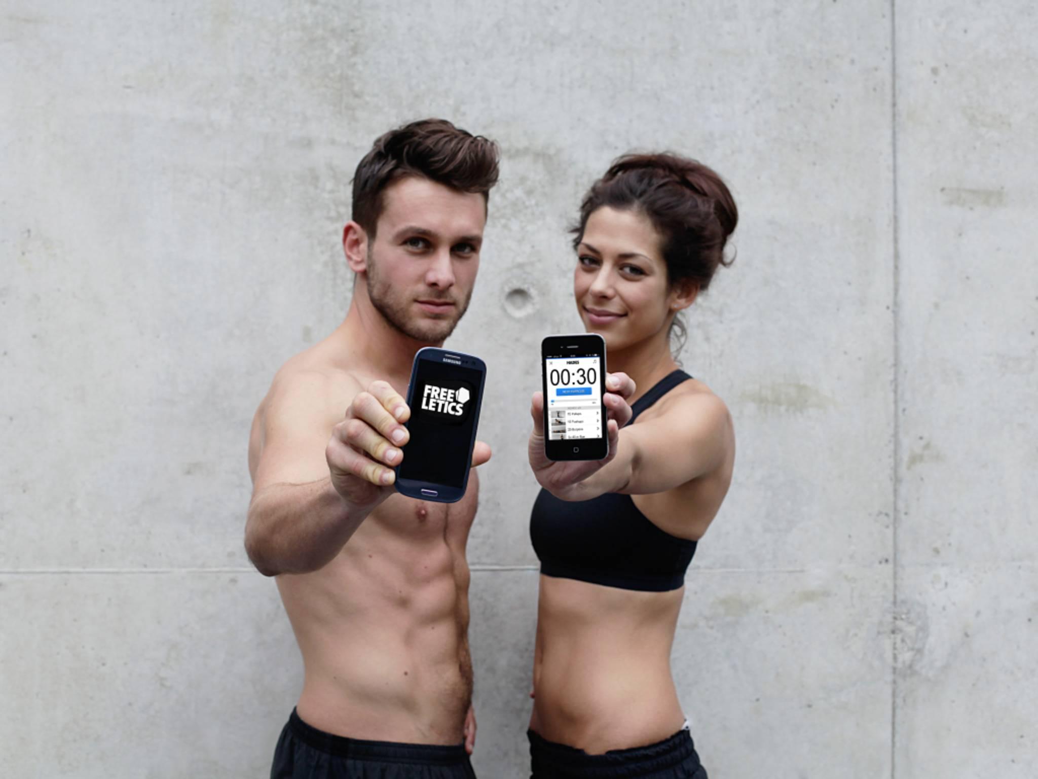 Mit diesen Fitness-Apps hast Du Deinen Personal Trainer in der Tasche.