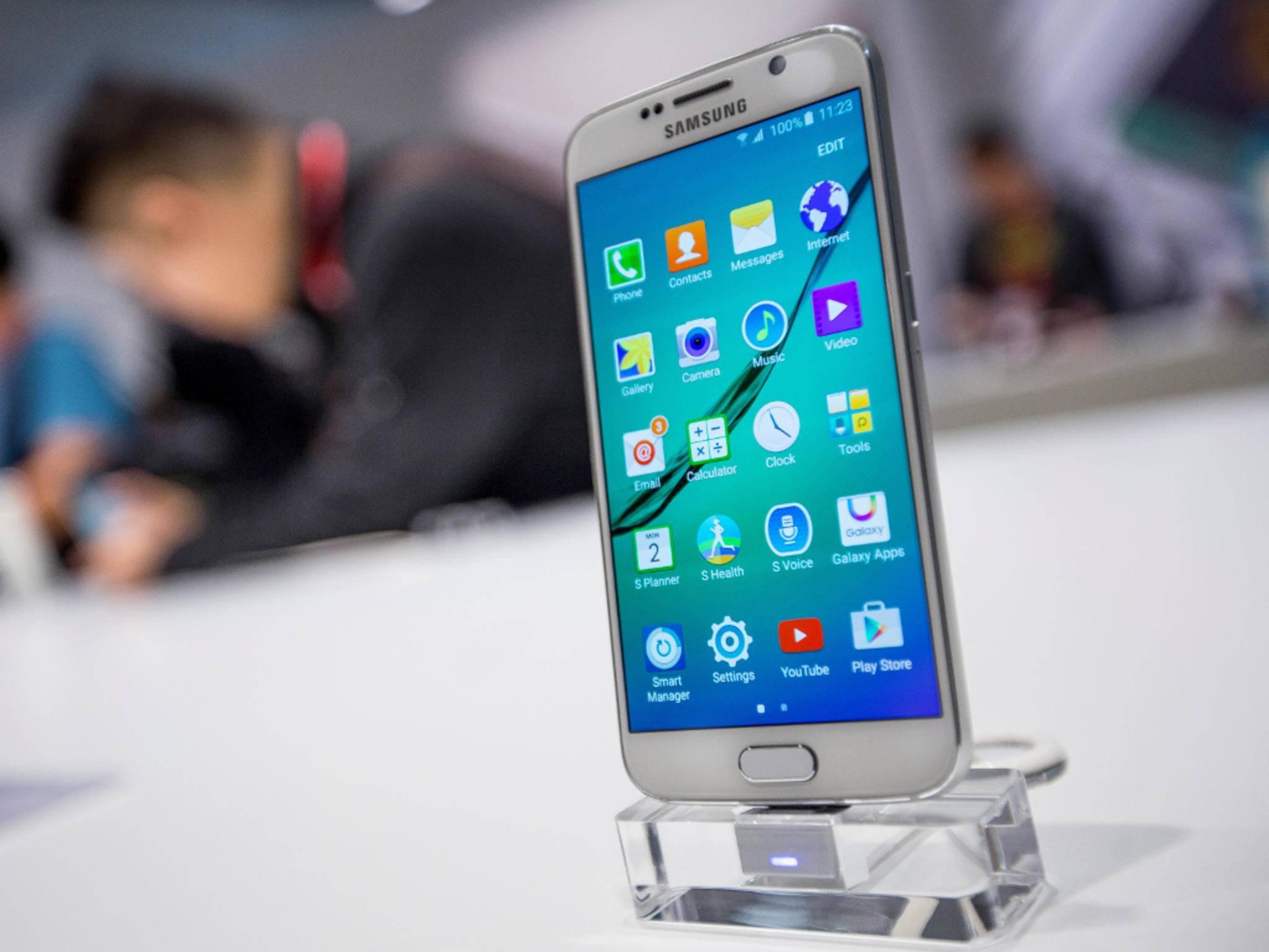 Das Design des Galaxy S6 ähnelt dem iPhone 6.