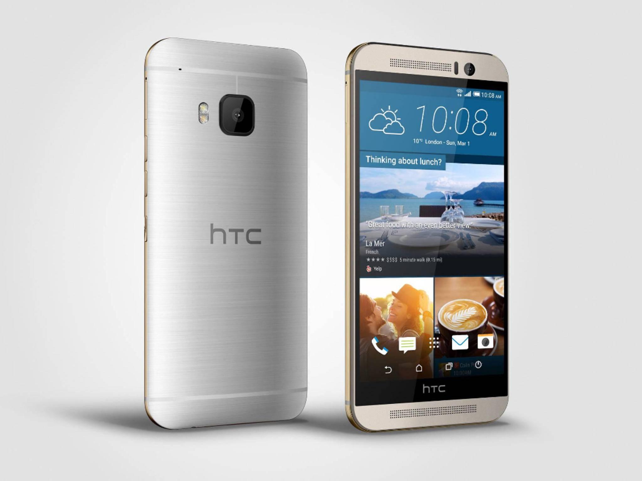 Das HTC One M9 ähnelt seinem Vorgänger One M8.