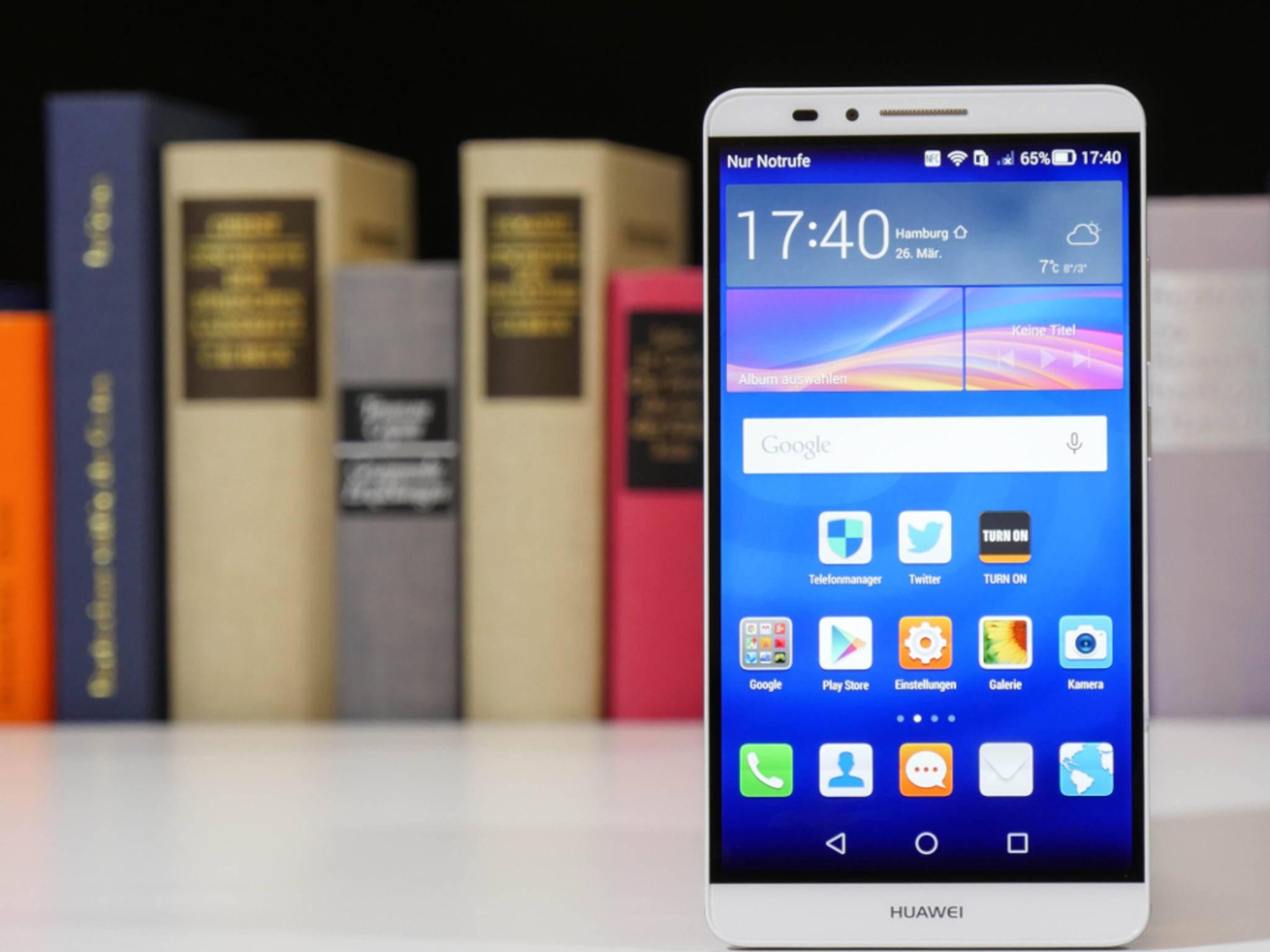 Das Huawei Ascend Mate 7 besitzt einen 6-Zoll-Screen mit Full HD.
