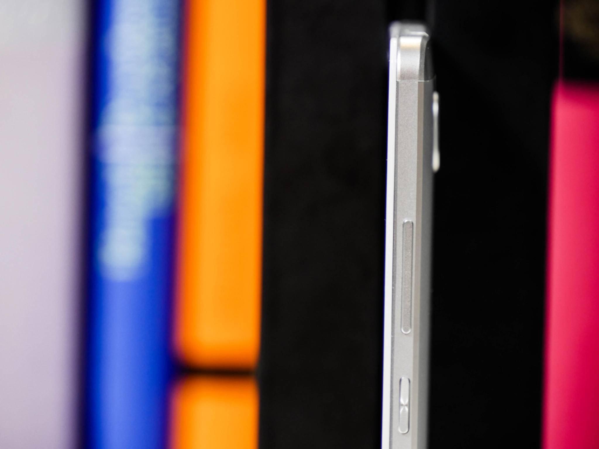 Das Huawei Ascend Mate 7 ist mit nur 7,9 Millimetern schön dünn.